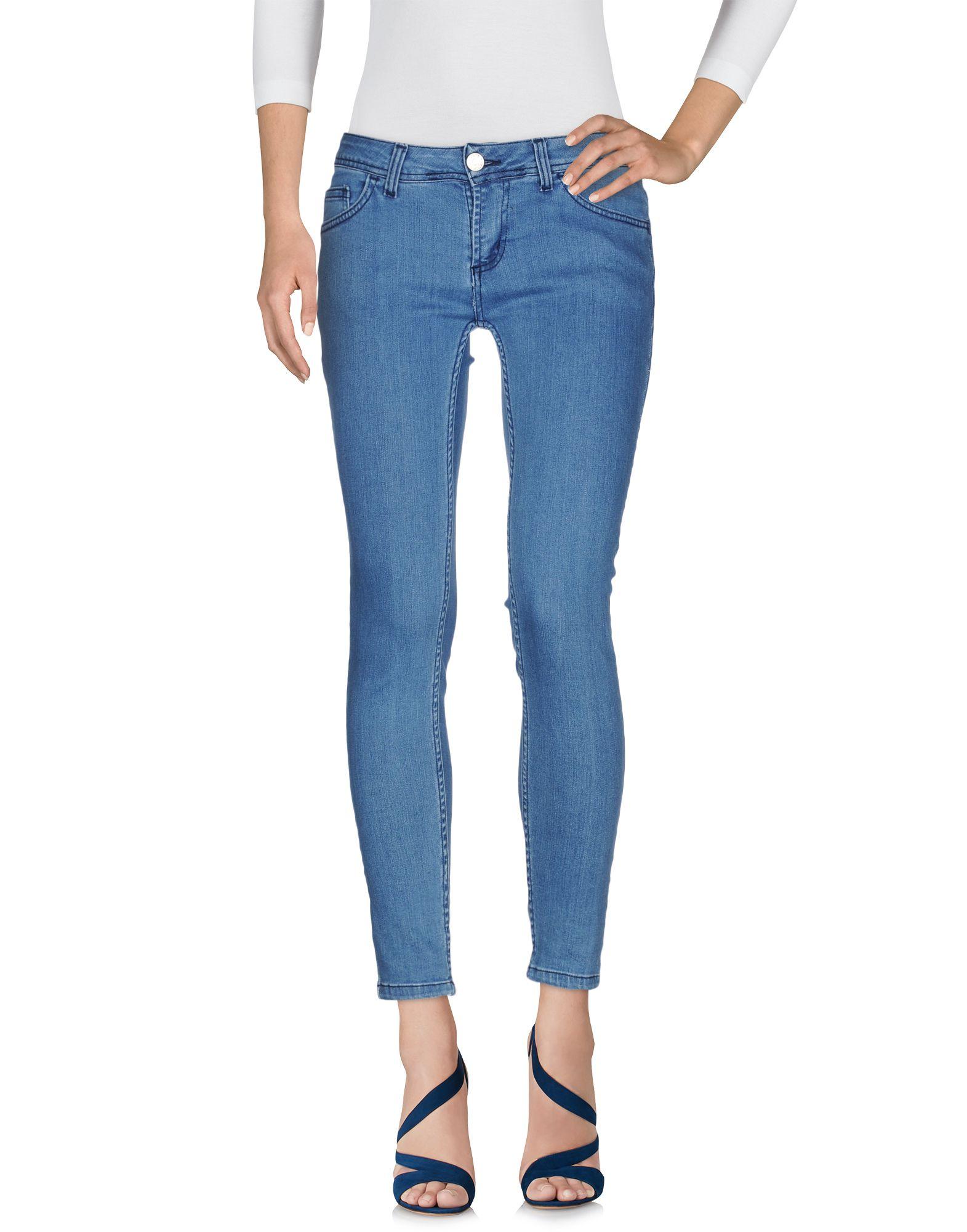 цена UFFICIO 87 Джинсовые брюки онлайн в 2017 году