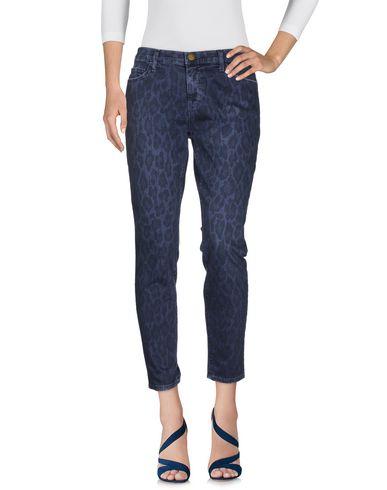 Фото - Джинсовые брюки грифельно-синего цвета