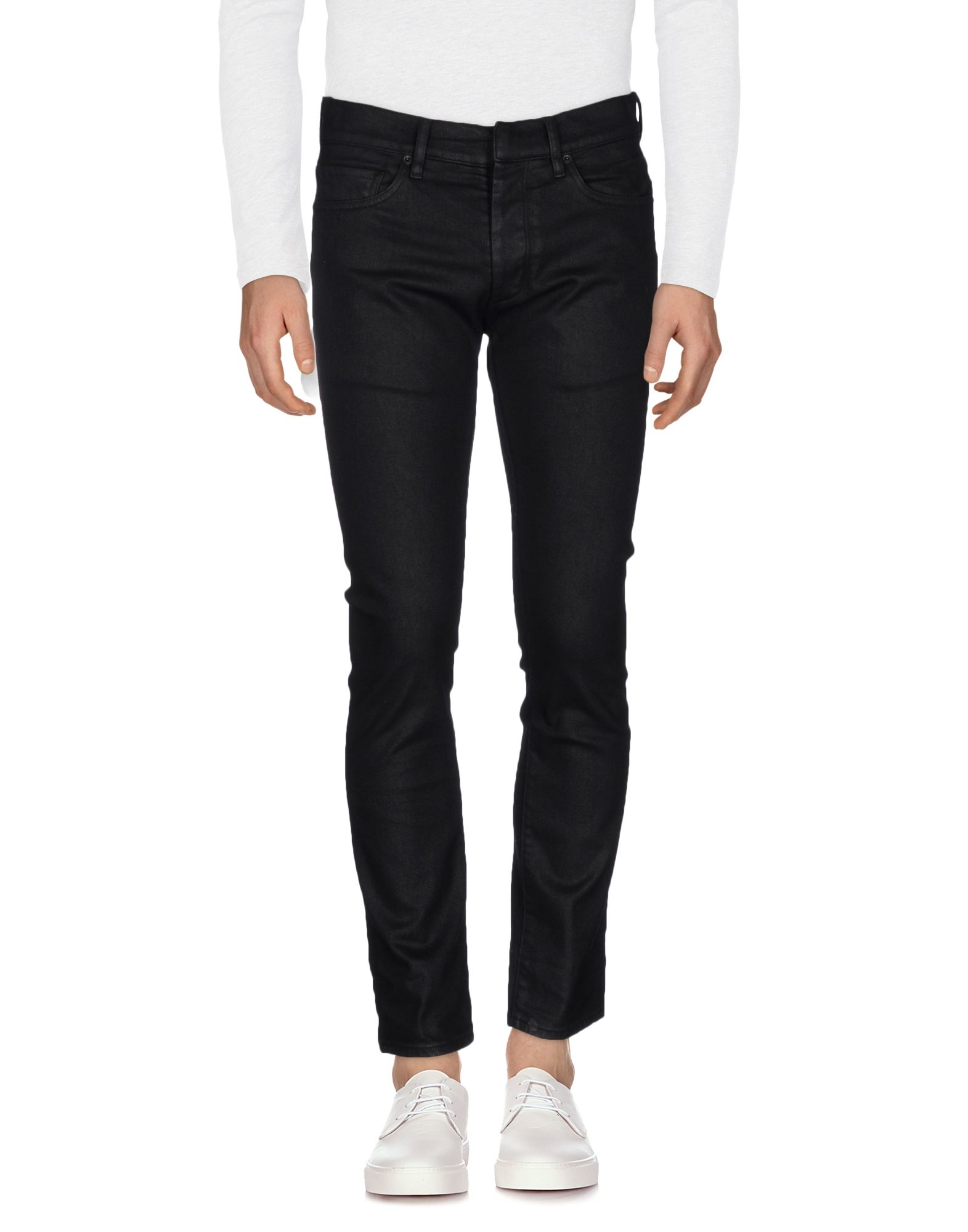 RING Denim Pants in Black
