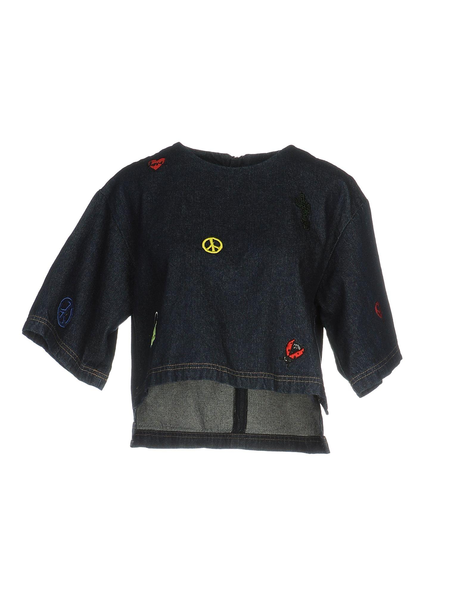 STEVE J & YONI P Джинсовая рубашка at p co рубашка джинсовая атипико franciacpb33 0915 синий 42