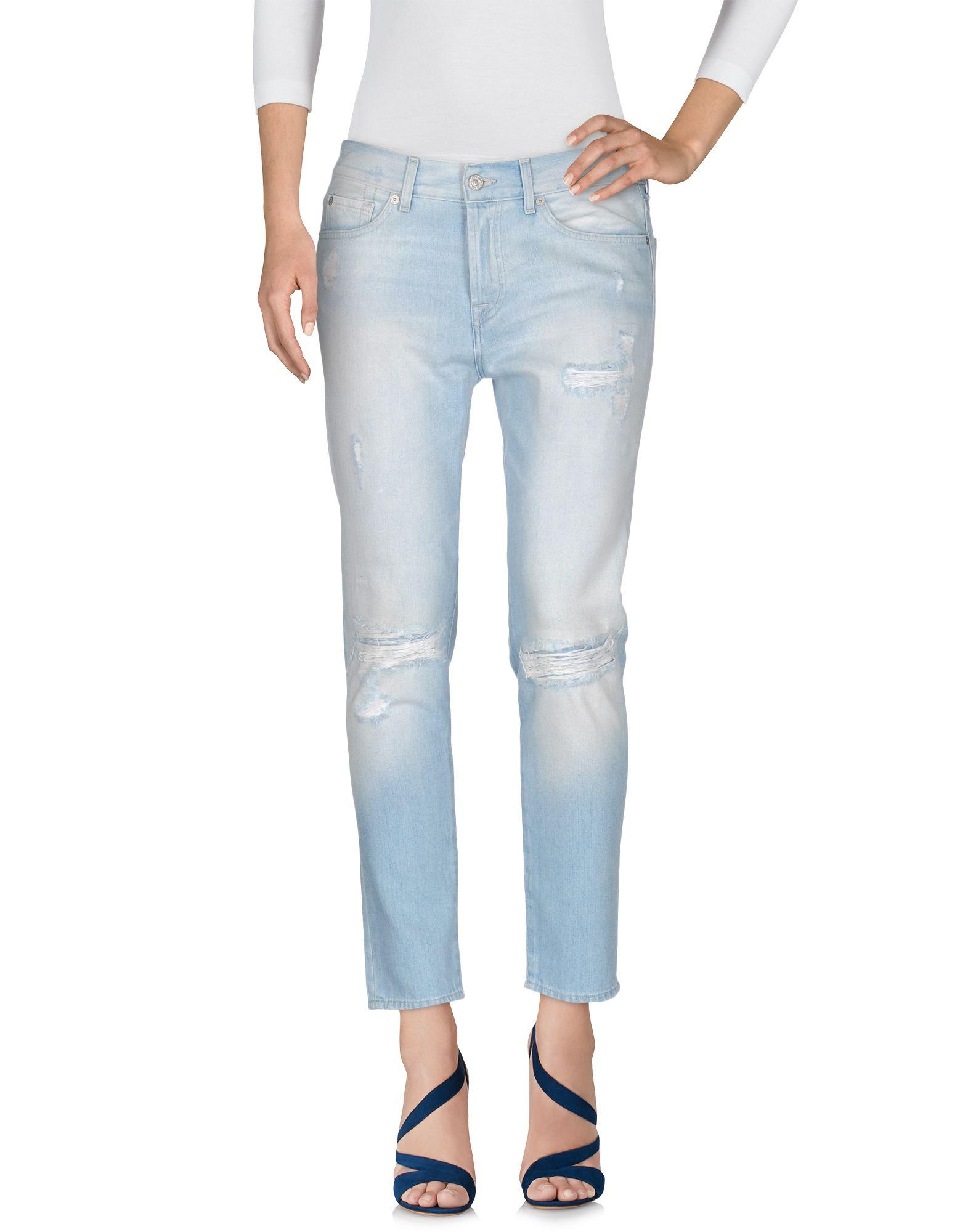 7 FOR ALL MANKIND Джинсовые брюки джинсы мужские 7 for all mankind for all man kind brett modern