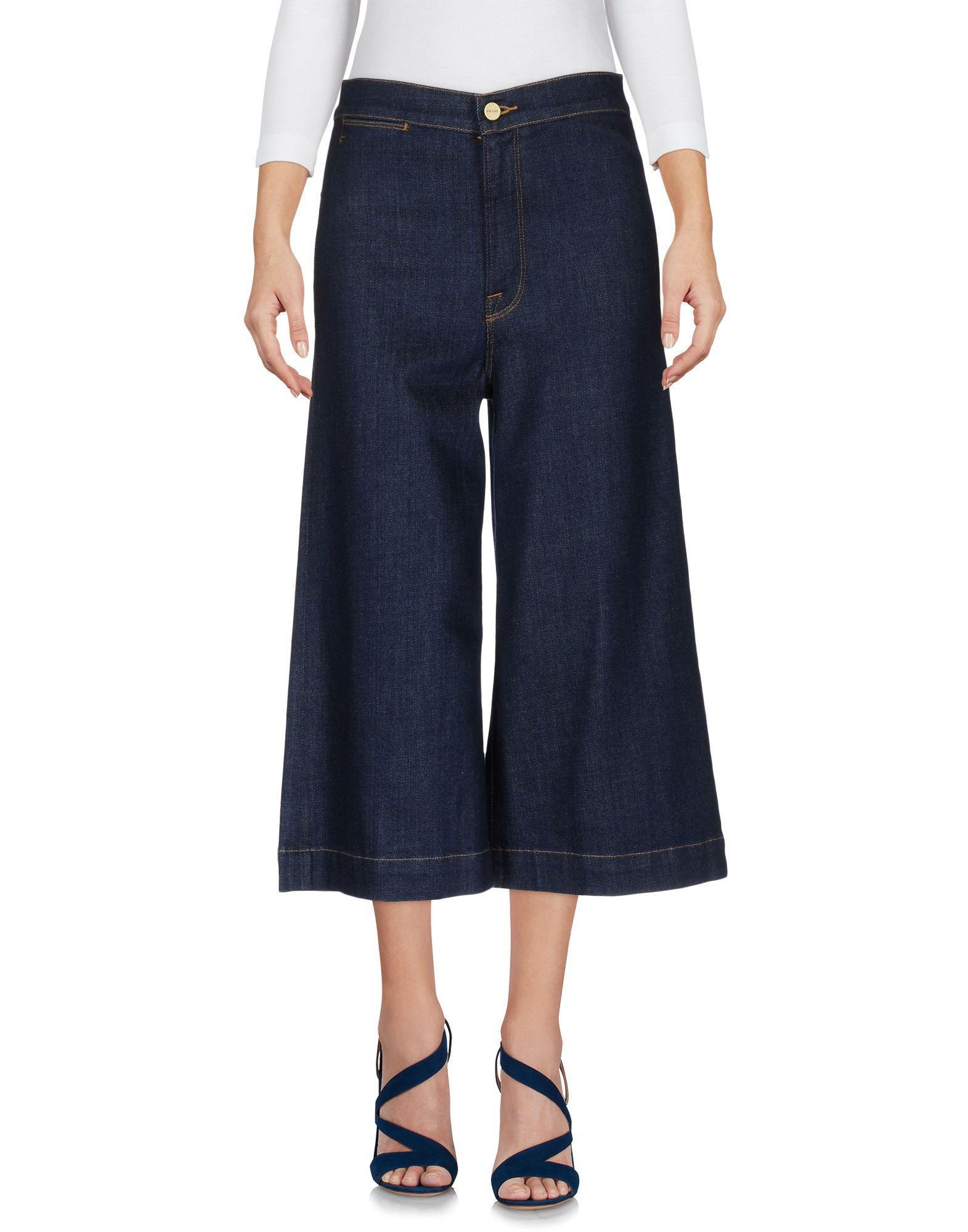FRAME Джинсовые брюки-капри капри apanage капри