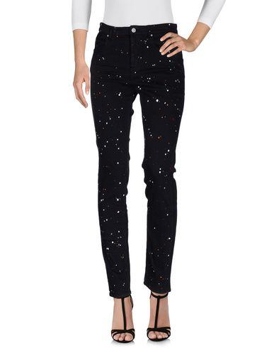 Купить Джинсовые брюки от ISABEL MARANT ÉTOILE черного цвета