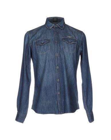 Джинсовая рубашка AERONAUTICA MILITARE 42588043HS