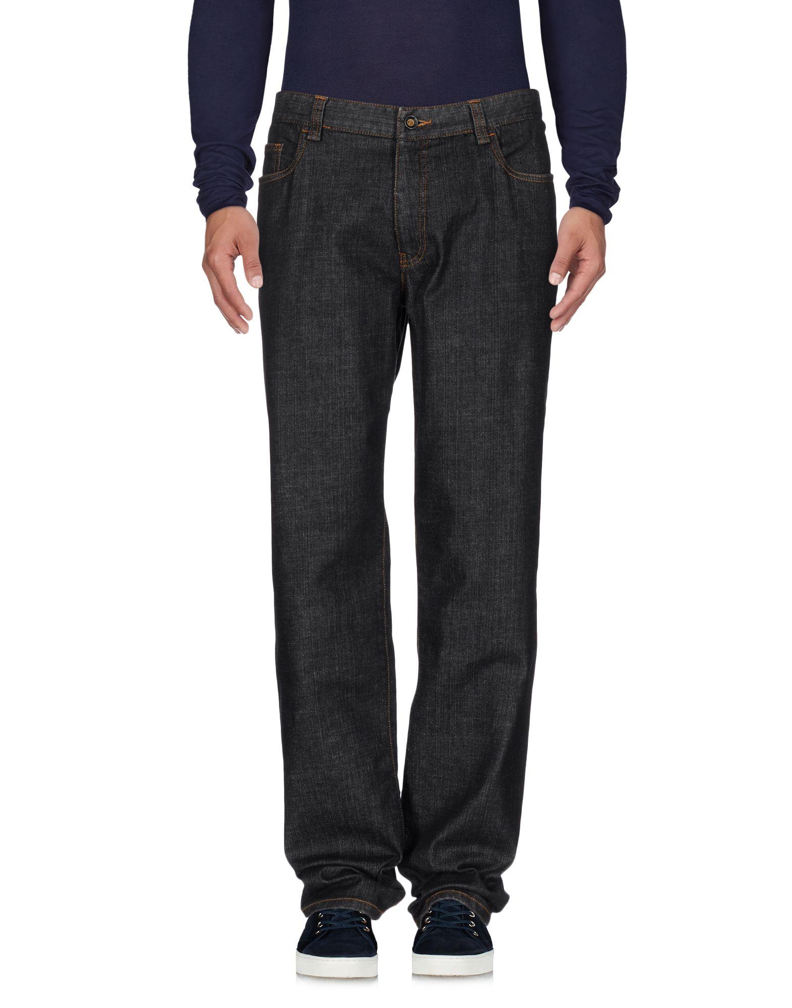 цена CC COLLECTION CORNELIANI Джинсовые брюки онлайн в 2017 году