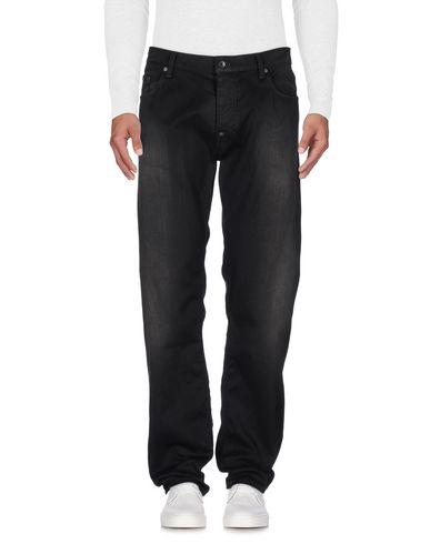 Фото - Джинсовые брюки от BOSS BLACK черного цвета