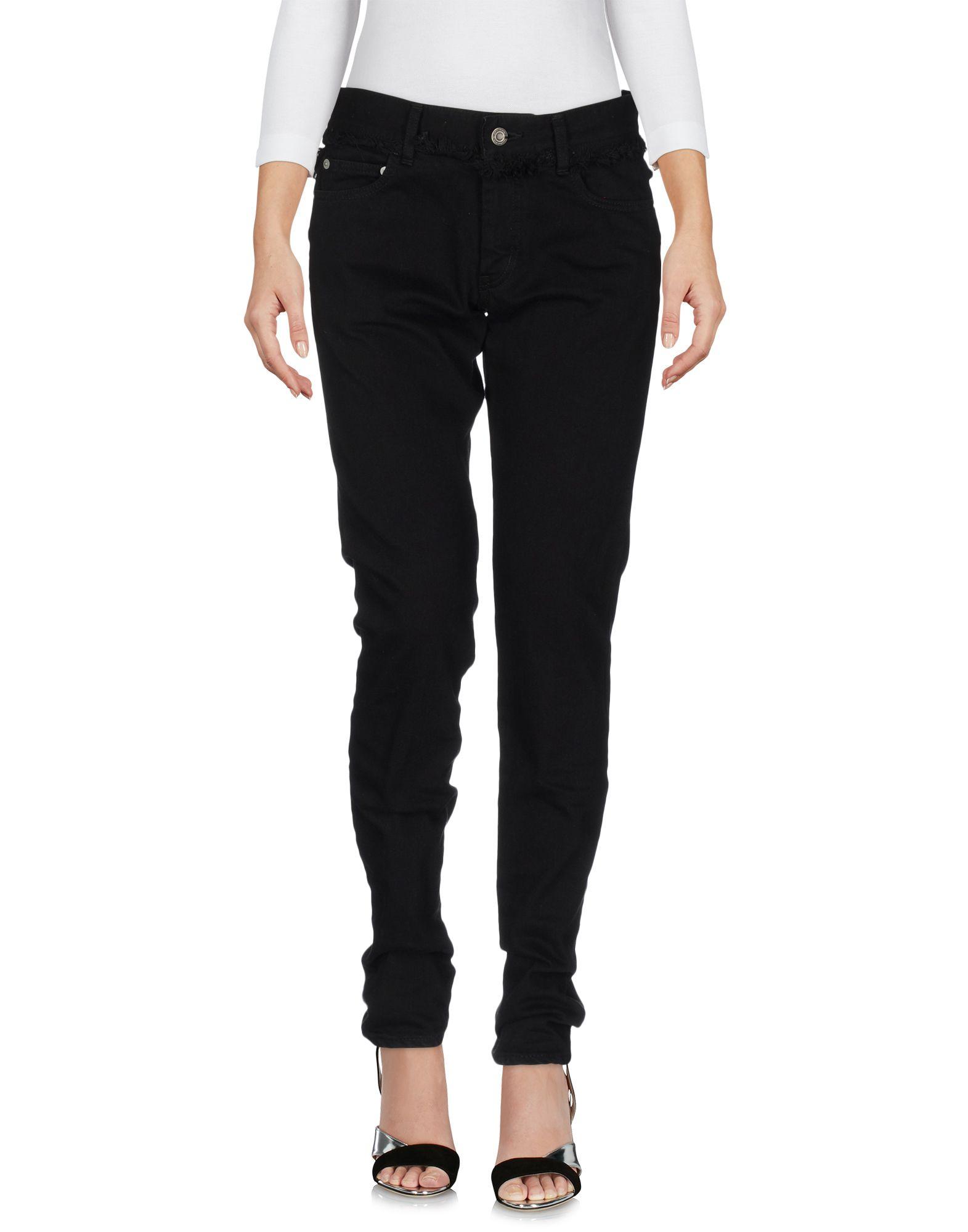 CHRISTIAN DADA Джинсовые брюки christian dada юбка с асимметричной отделкой