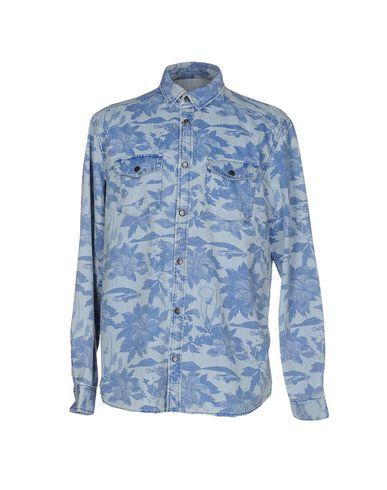 Джинсовая рубашка WESC 42588732MW