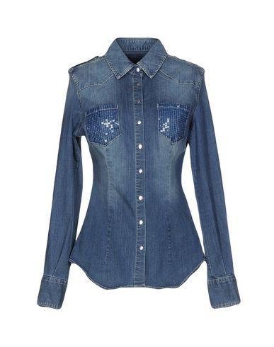 Джинсовая рубашка TWIN-SET JEANS 42589272QJ