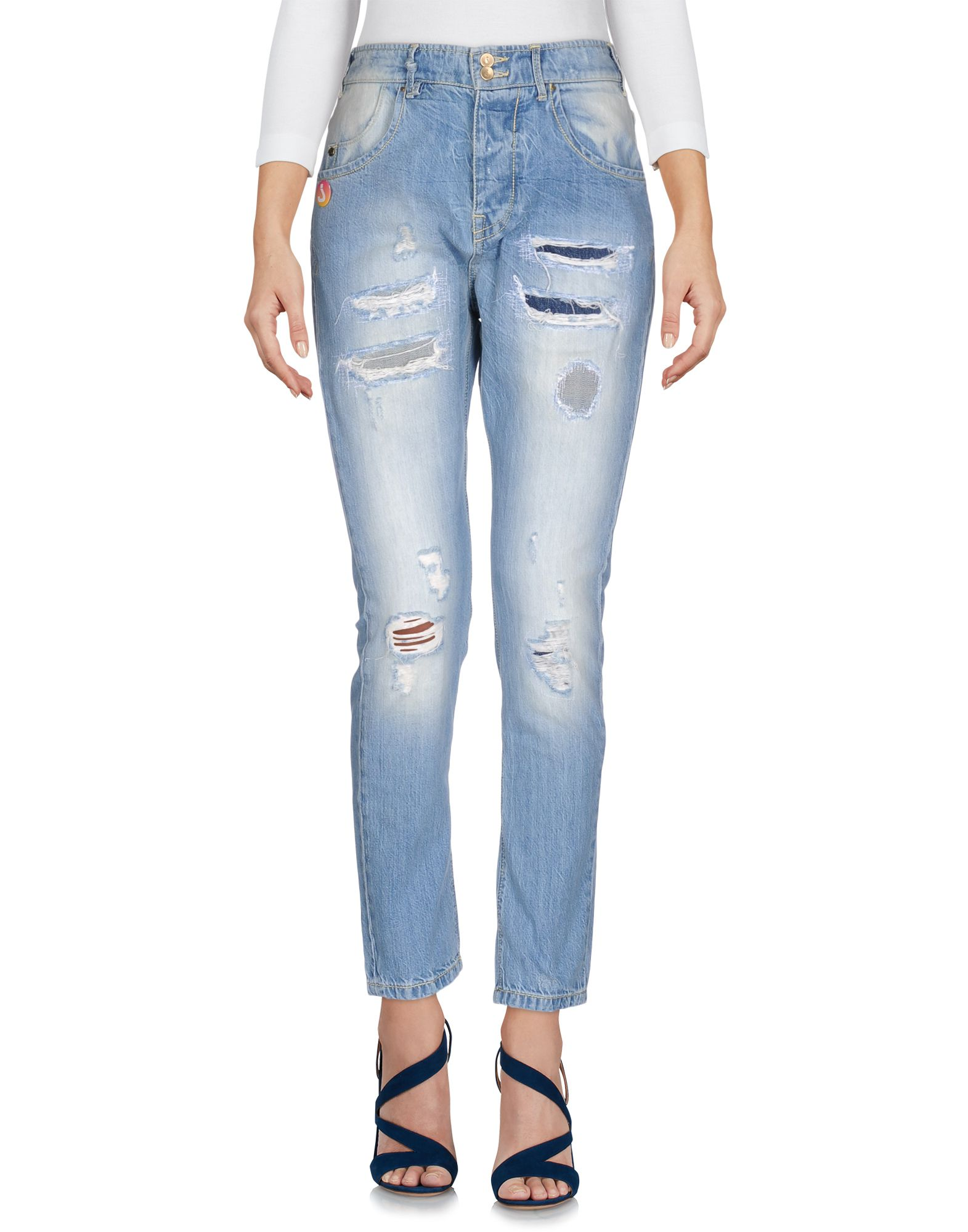 JCOLOR Джинсовые брюки цена