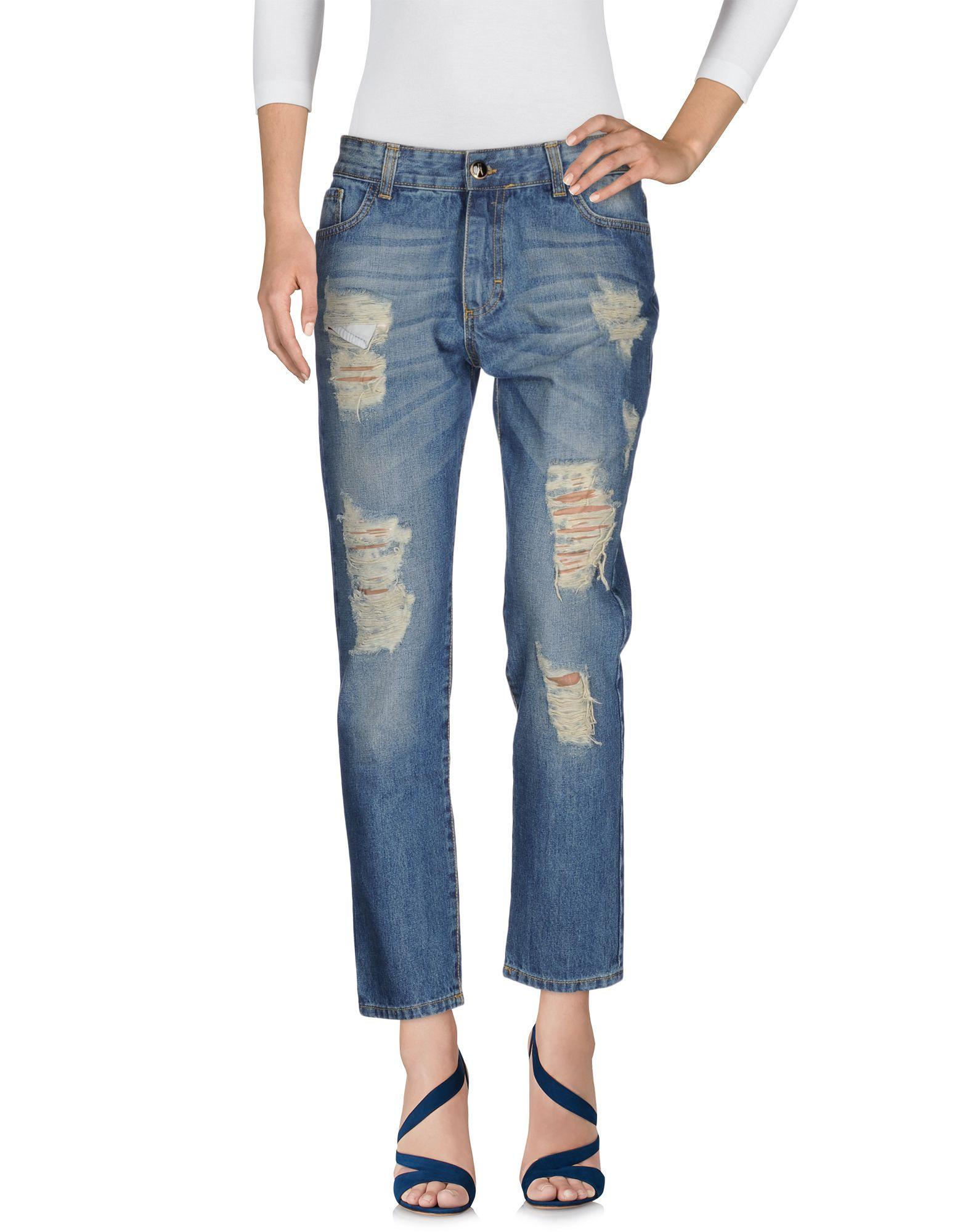 ANIYE BY Damen Jeanshose Farbe Blau Größe 6
