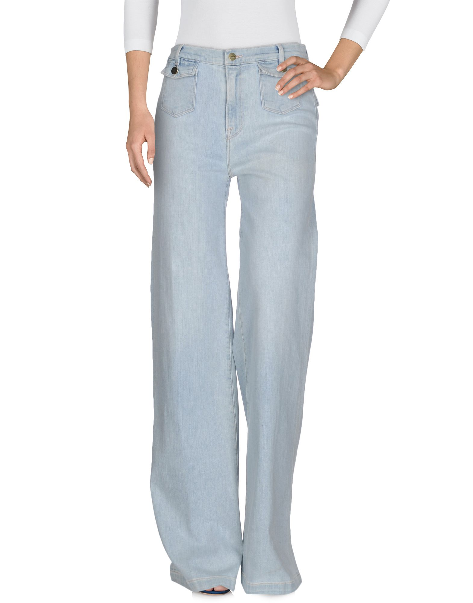 FRAME Damen Jeanshose Farbe Blau Größe 3 - broschei