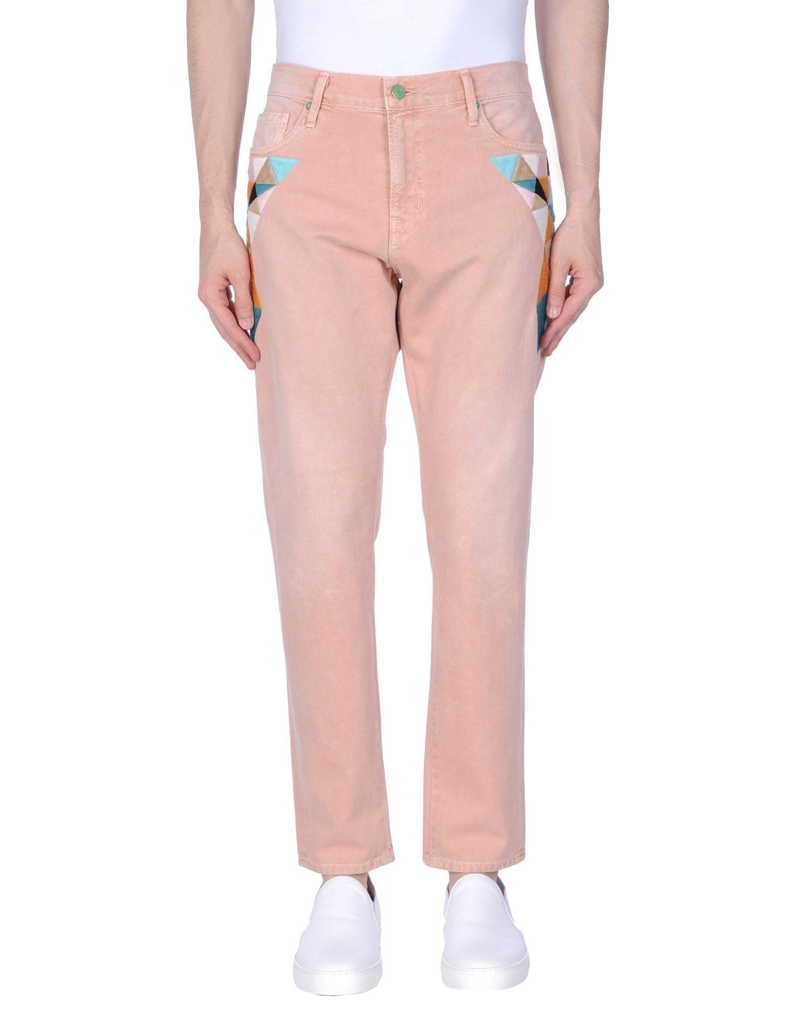 SANDRINE ROSE Herren Jeanshose Farbe Rosa Größe 6 - broschei