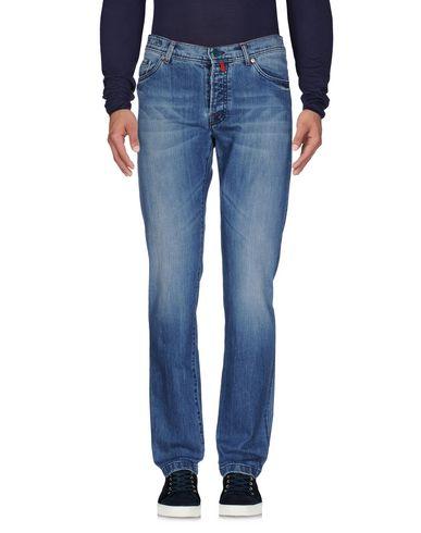 Джинсовые брюки KITON 42590382AG
