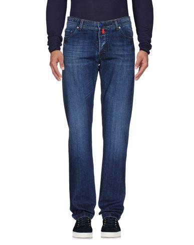 Джинсовые брюки KITON 42590386HW