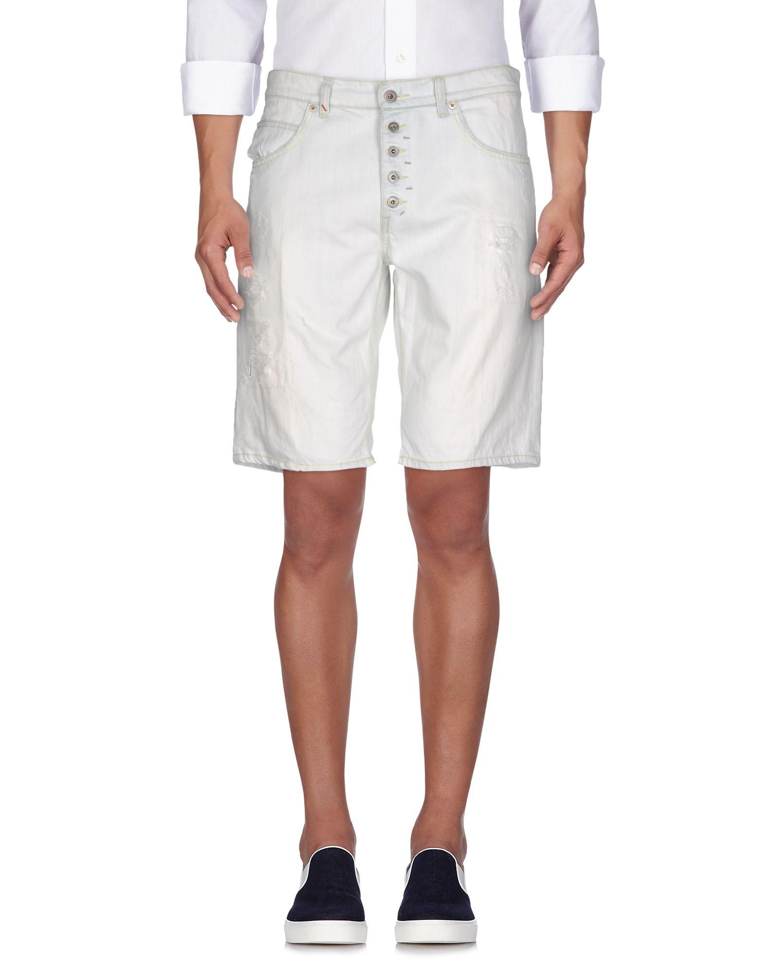 DONDUP Herren Jeansbermudashorts Farbe Elfenbein Größe 10 - broschei