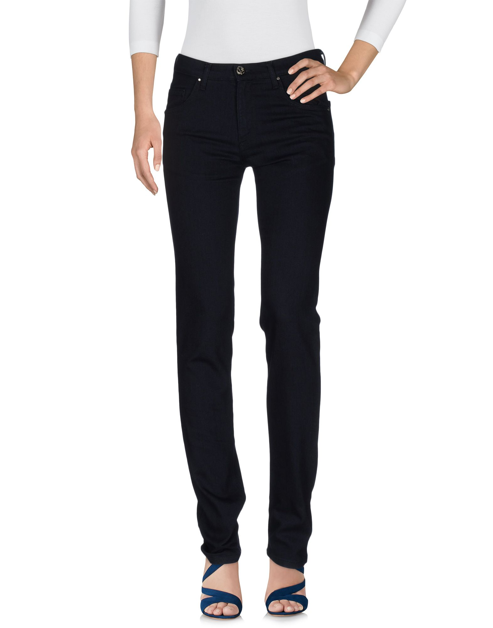 VERSACE JEANS Damen Jeanshose Farbe Dunkelblau Größe 6 - broschei