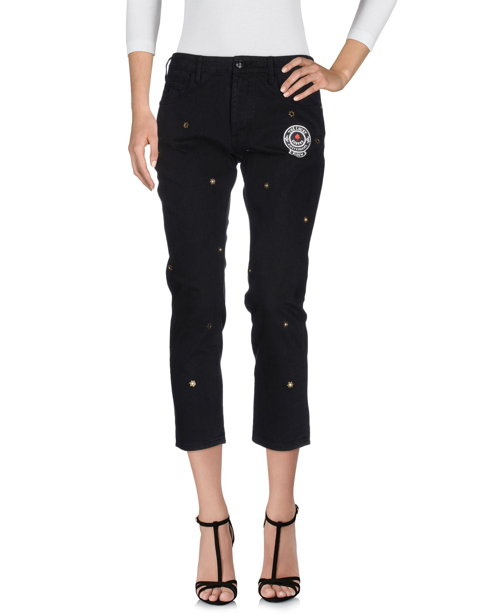 SCOTCH & SODA Damen Jeanshose Farbe Schwarz Größe 5 - broschei