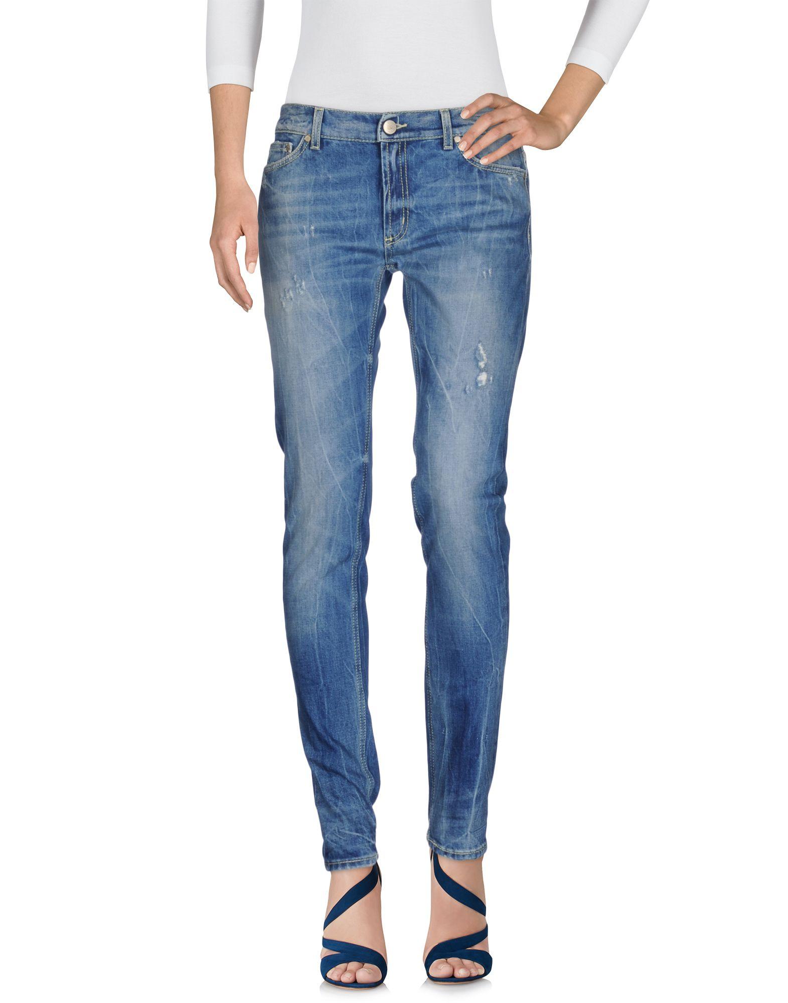 DONDUP Damen Jeanshose Farbe Blau Größe 7 - broschei
