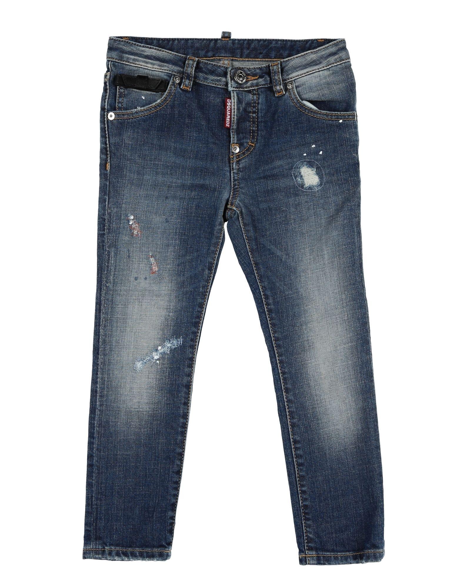 DSQUARED2 Mädchen 3-8 jahre Jeanshose Farbe Blau Größe 6 jetztbilligerkaufen