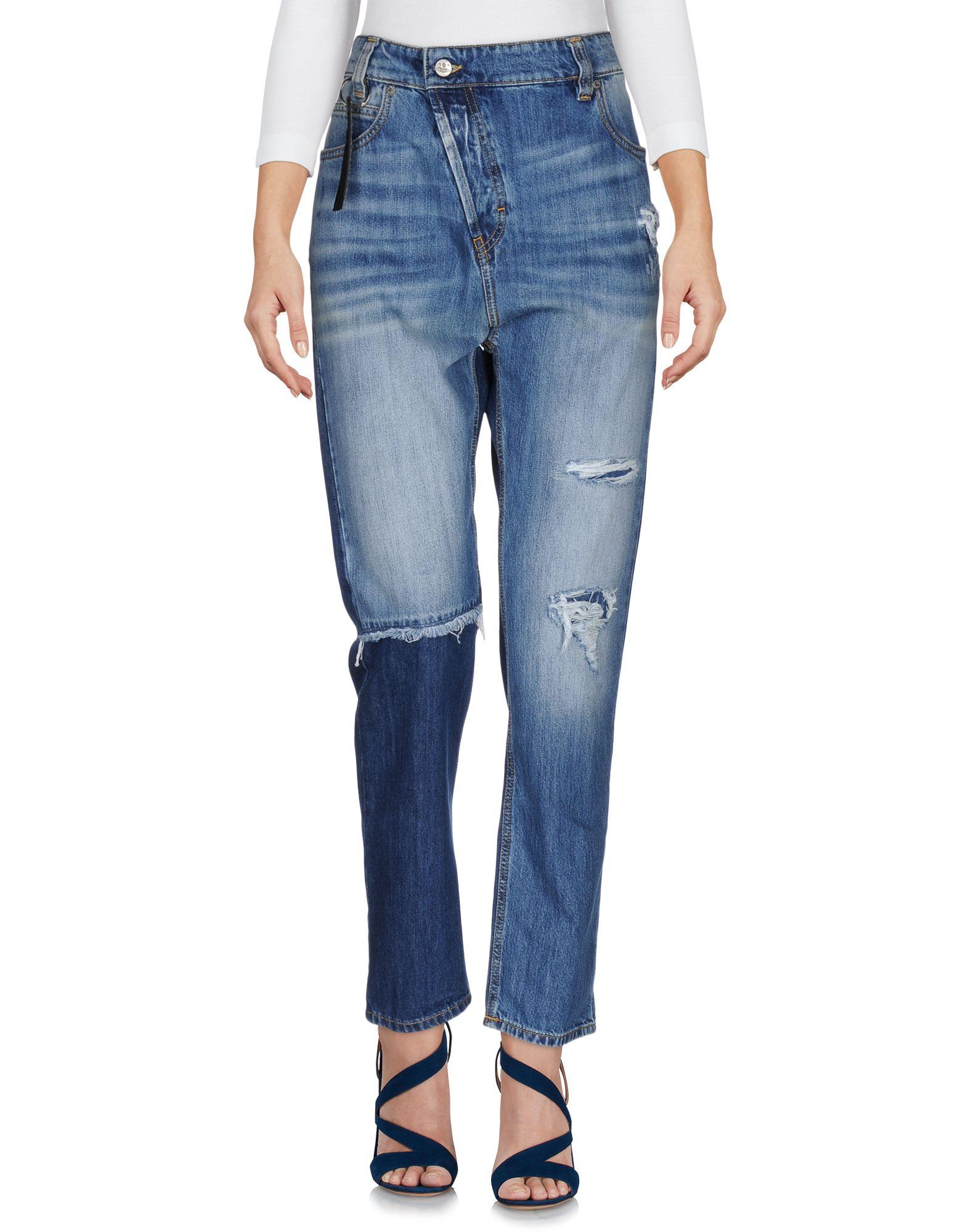 VIVIENNE WESTWOOD ANGLOMANIA Damen Jeanshose Farbe Blau Größe 6 - broschei