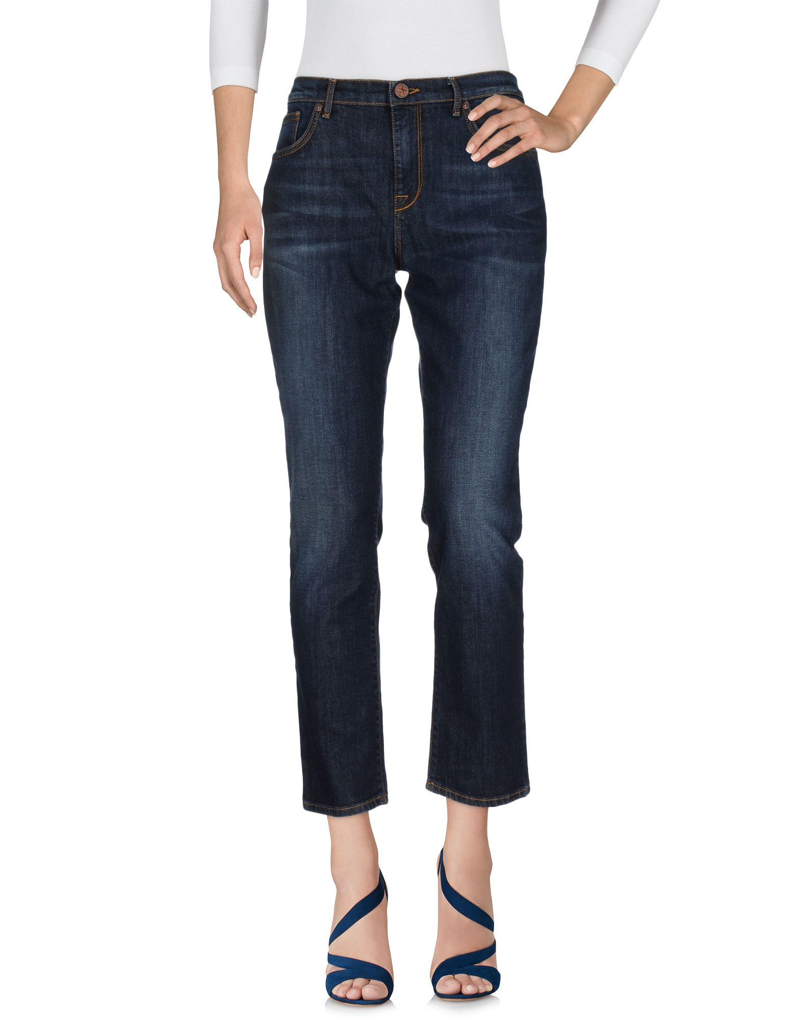 DAVID JOSS Damen Jeanshose Farbe Blau Größe 8 - broschei