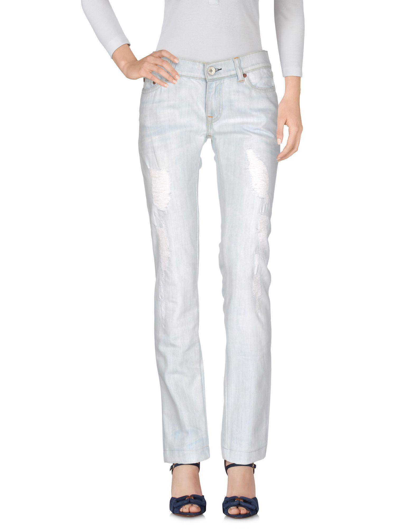 NOLITA DE NIMES Damen Jeanshose Farbe Blau Größe 4 - broschei