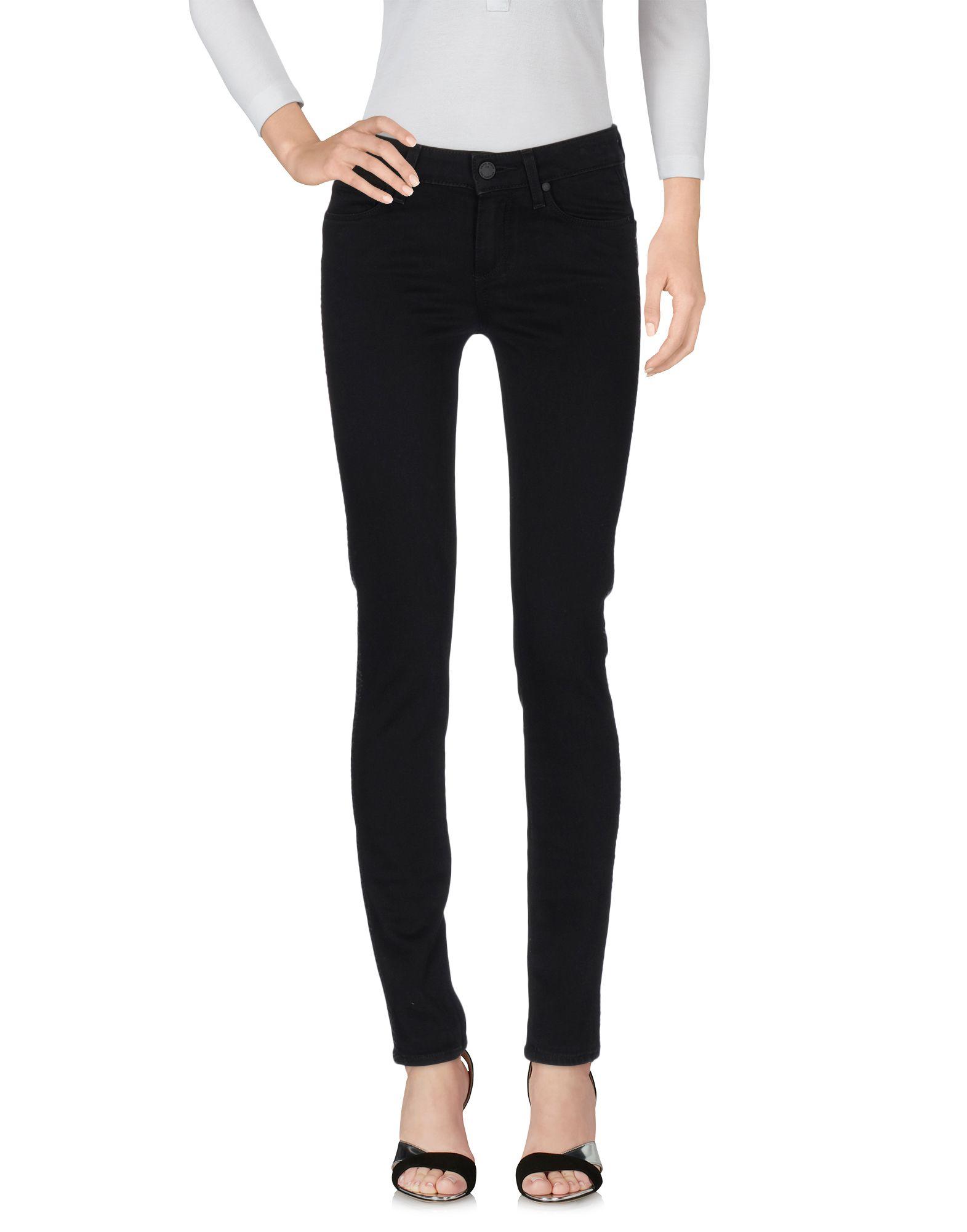 PAIGE Damen Jeanshose Farbe Schwarz Größe 1 - broschei