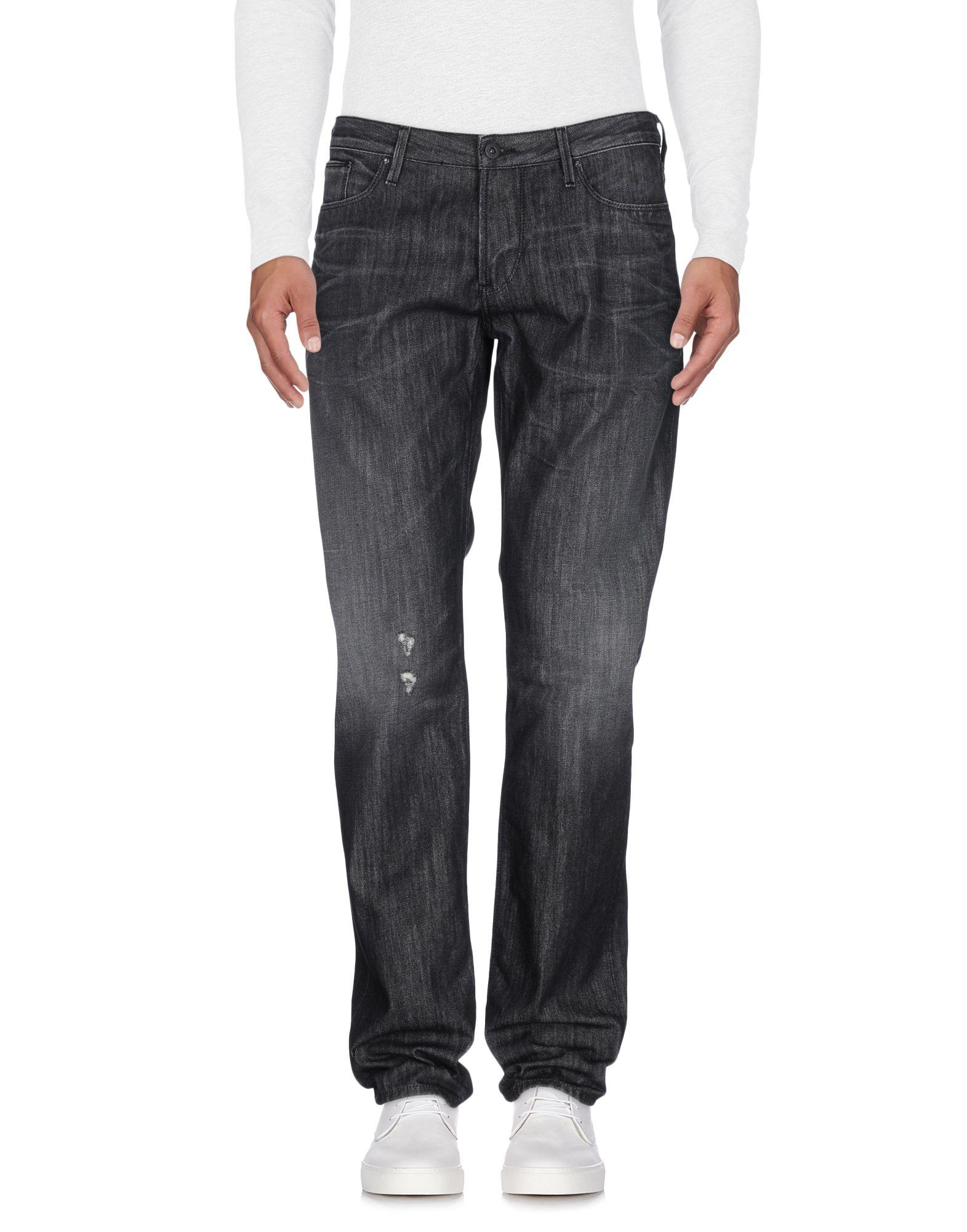 ARMANI JEANS Herren Jeanshose Farbe Schwarz Größe 6 - broschei