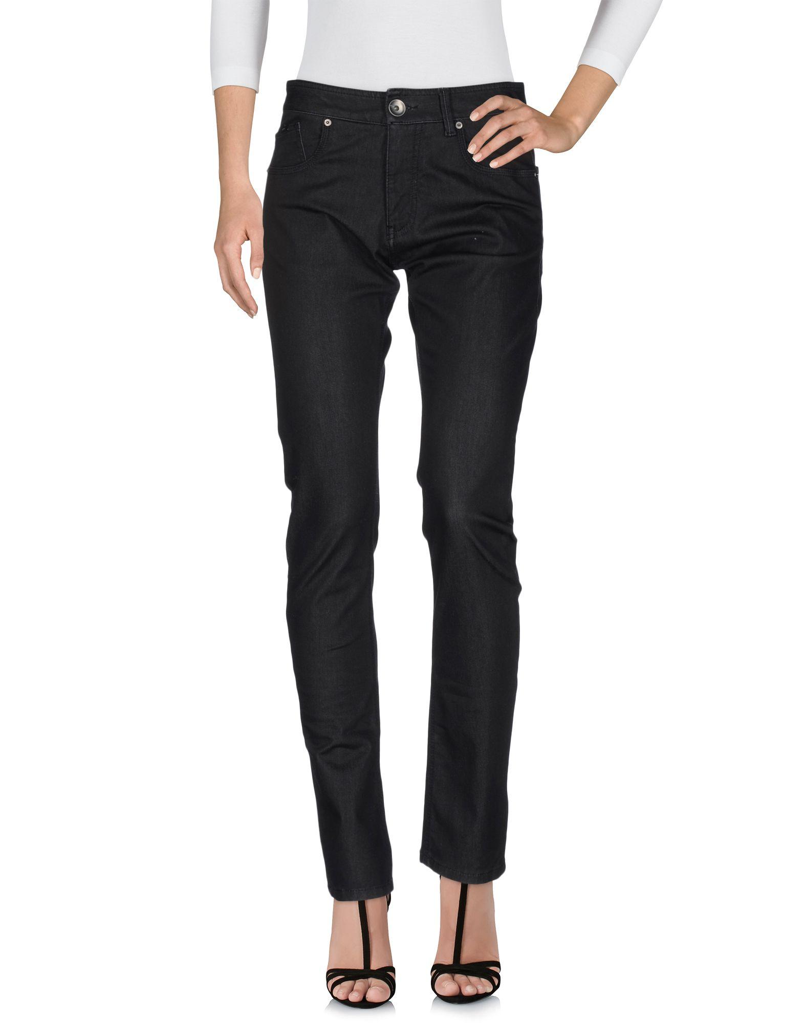 ARMANI COLLEZIONI Damen Jeanshose Farbe Schwarz Größe 6 jetztbilligerkaufen