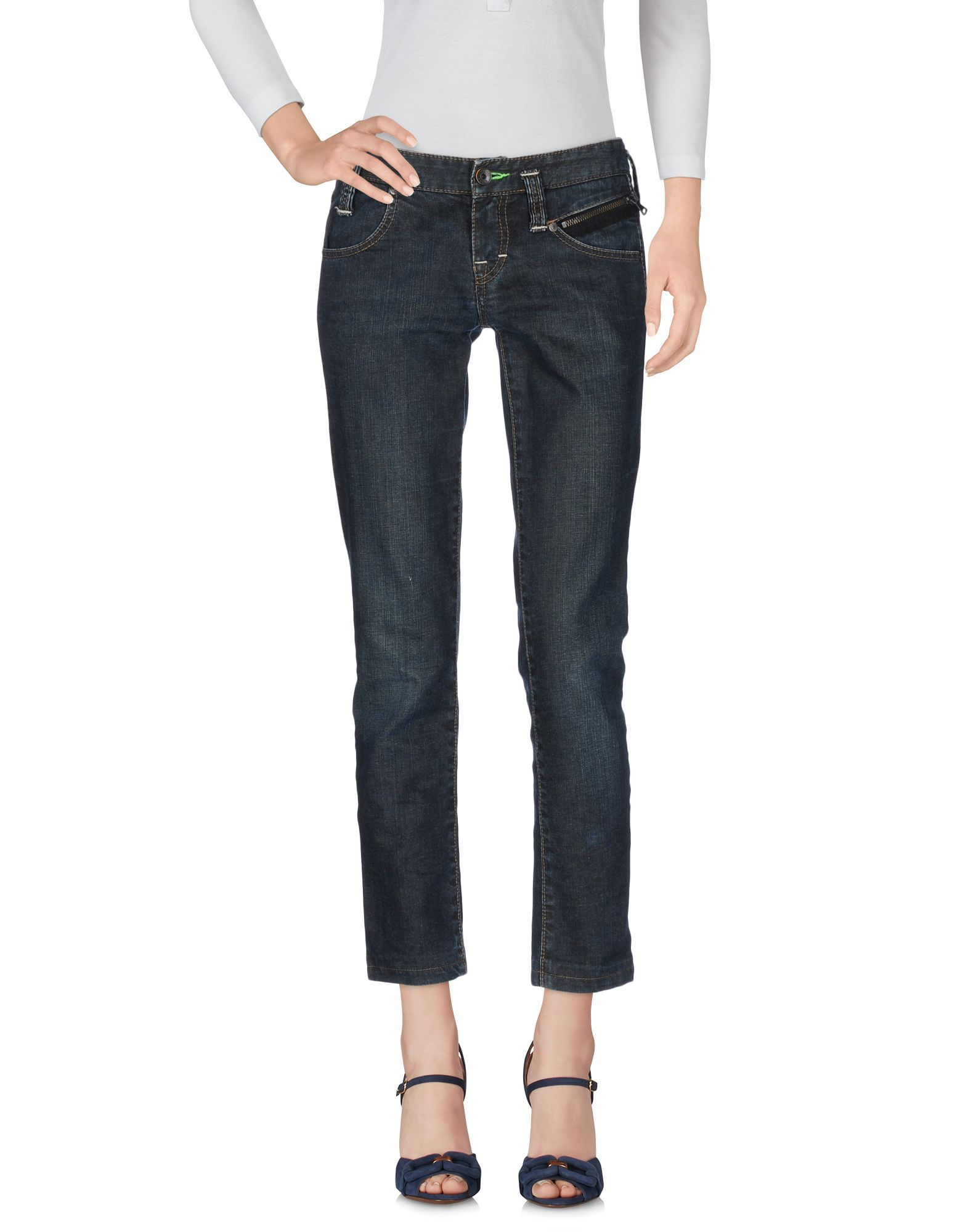 BOSS ORANGE Damen Jeanshose Farbe Blau Größe 3 - broschei