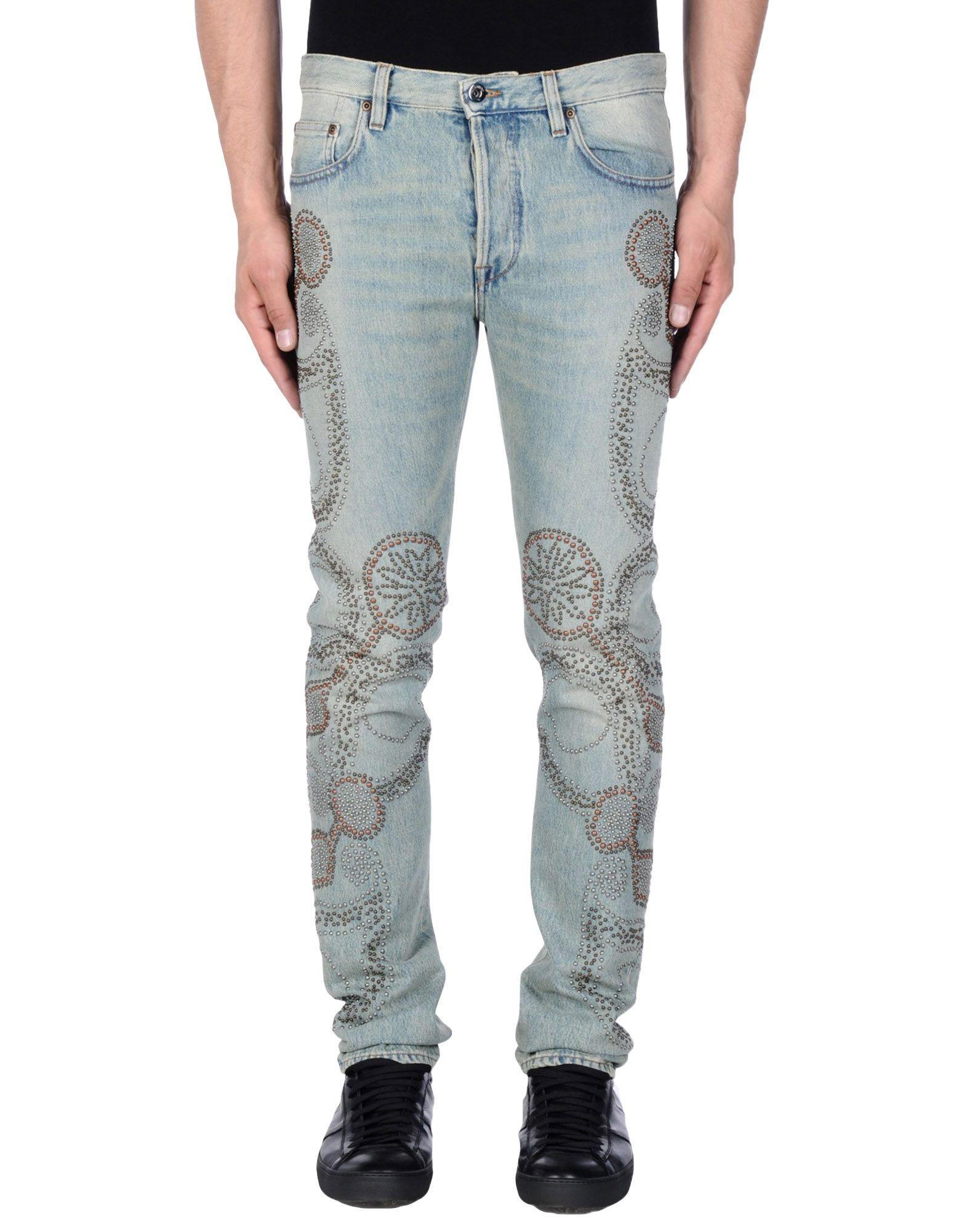 VALENTINO Herren Jeanshose Farbe Blau Größe 5 - broschei