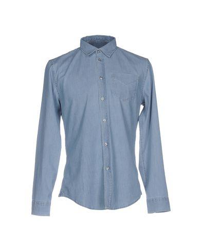 Джинсовая рубашка BIKKEMBERGS 42590737TX
