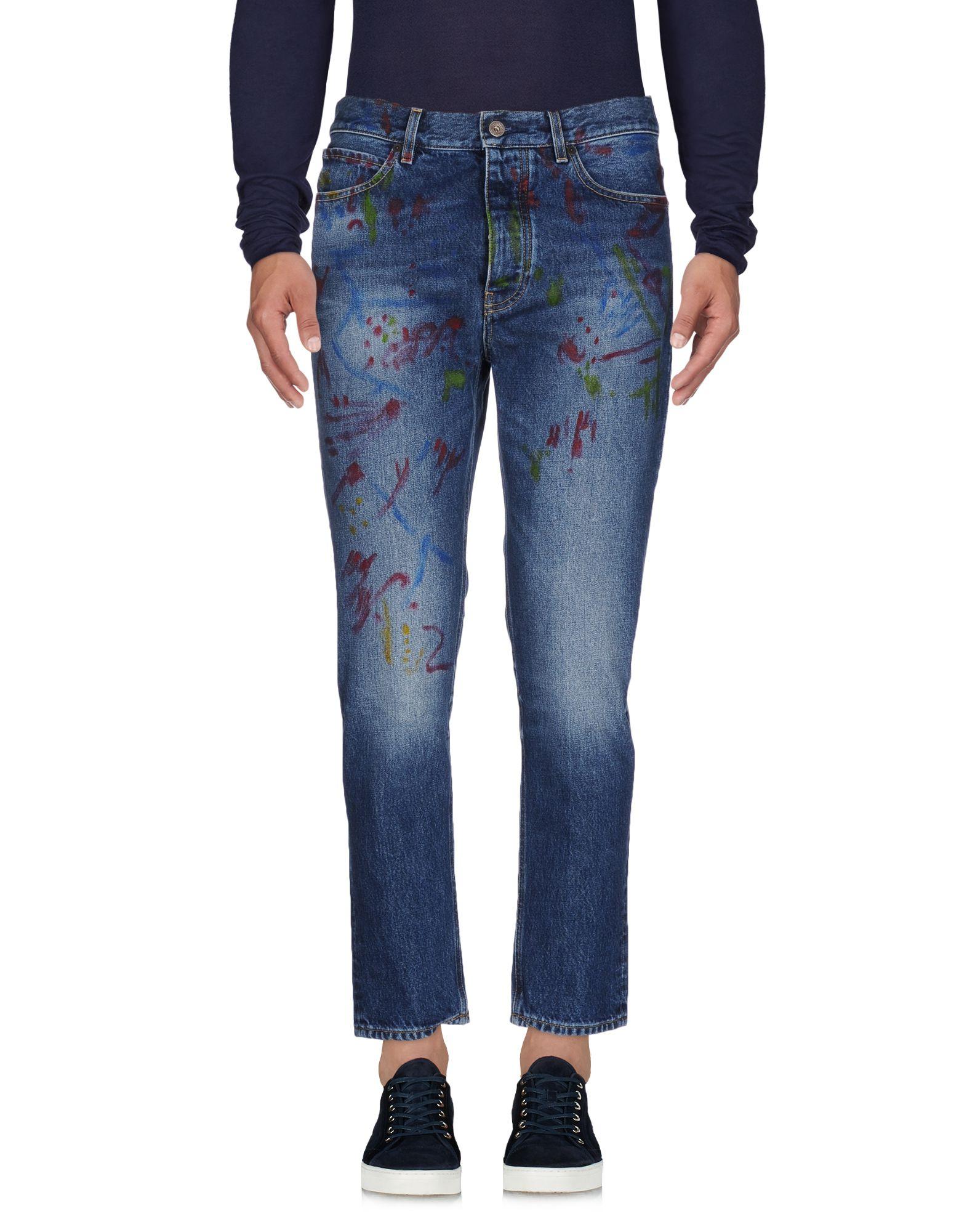 Фото PENCE Джинсовые брюки. Купить с доставкой