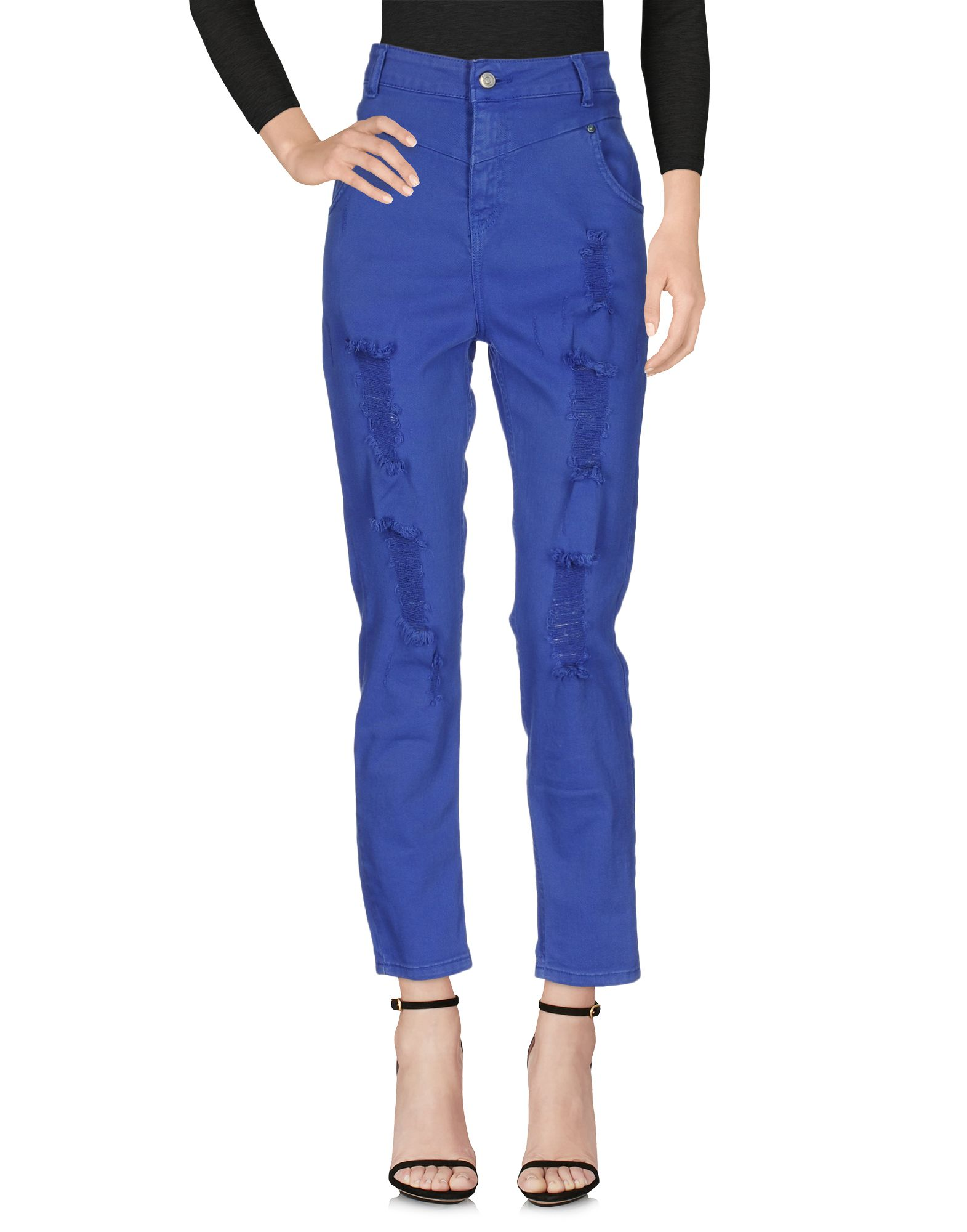 цены на SOUVENIR Джинсовые брюки в интернет-магазинах