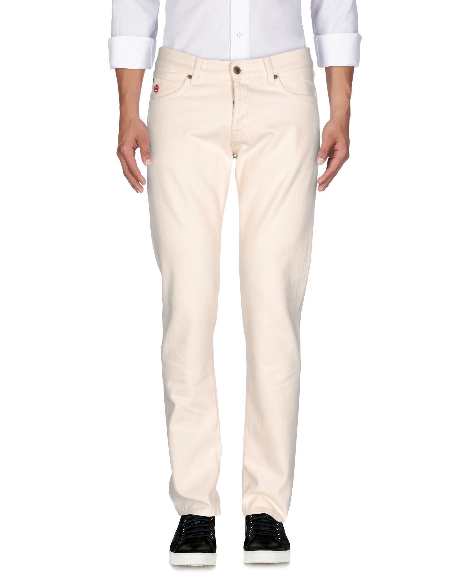 ROŸ ROGER'S_ASPESI Джинсовые брюки цена 2017