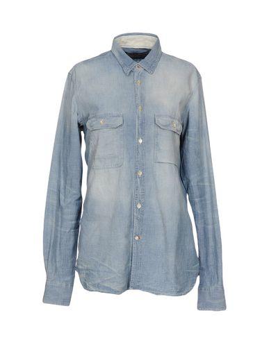 Джинсовая рубашка DONDUP 42591246BX