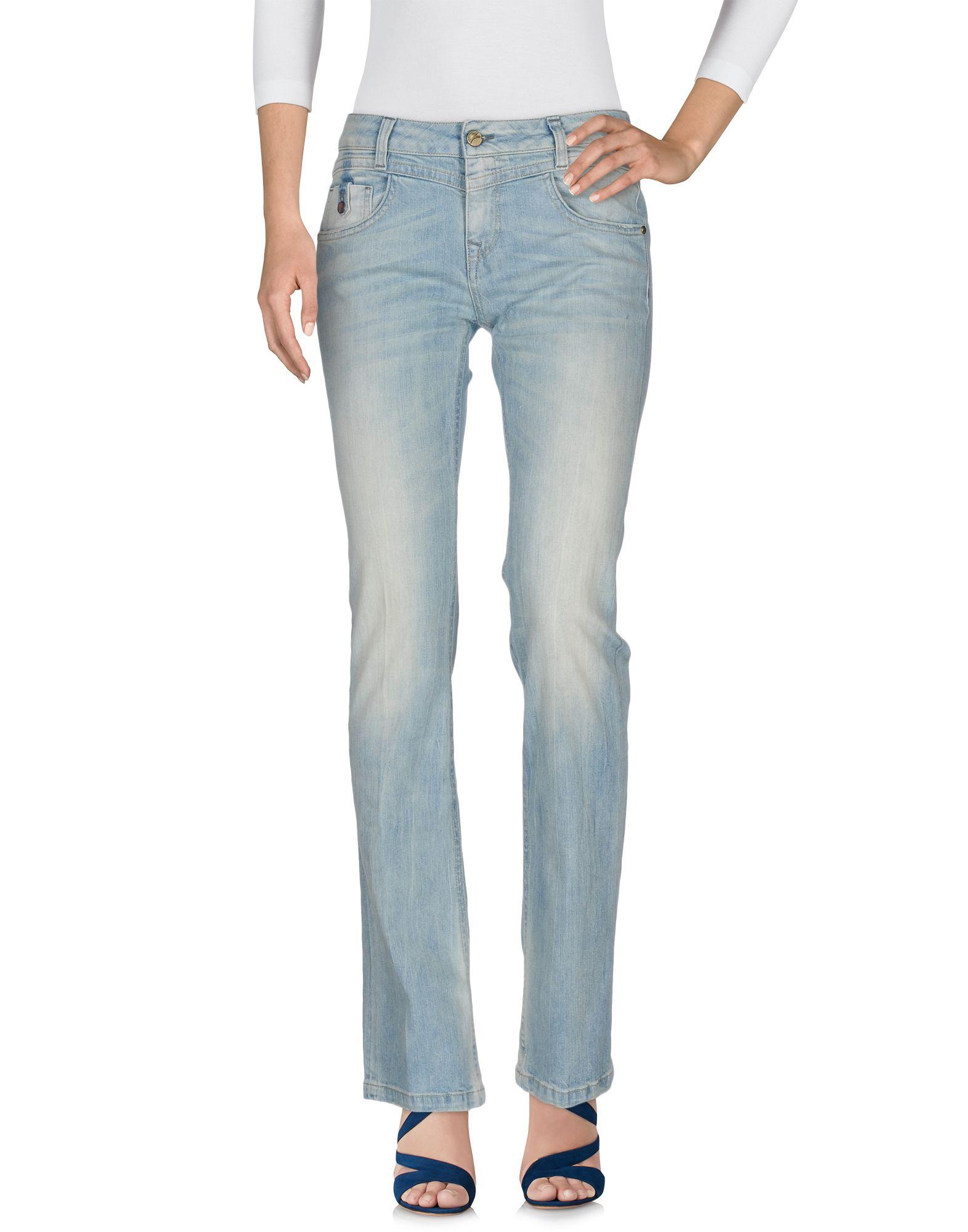 цена на MANILA GRACE DENIM Джинсовые брюки