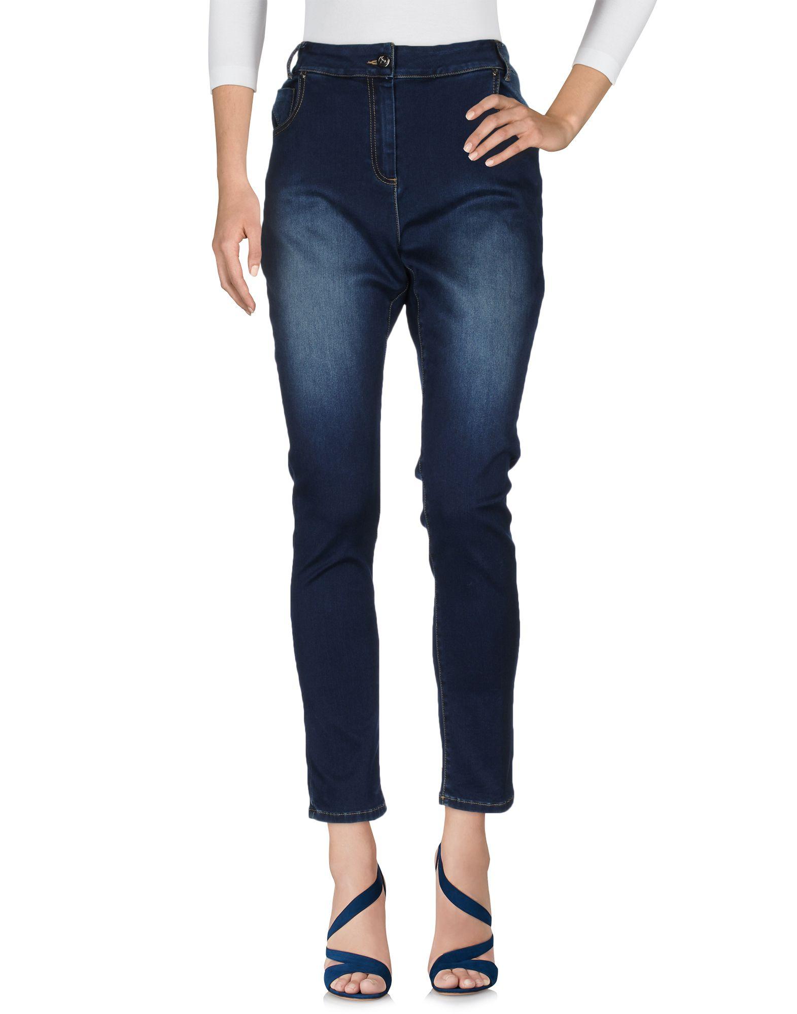 GIULIA VALLI Джинсовые брюки