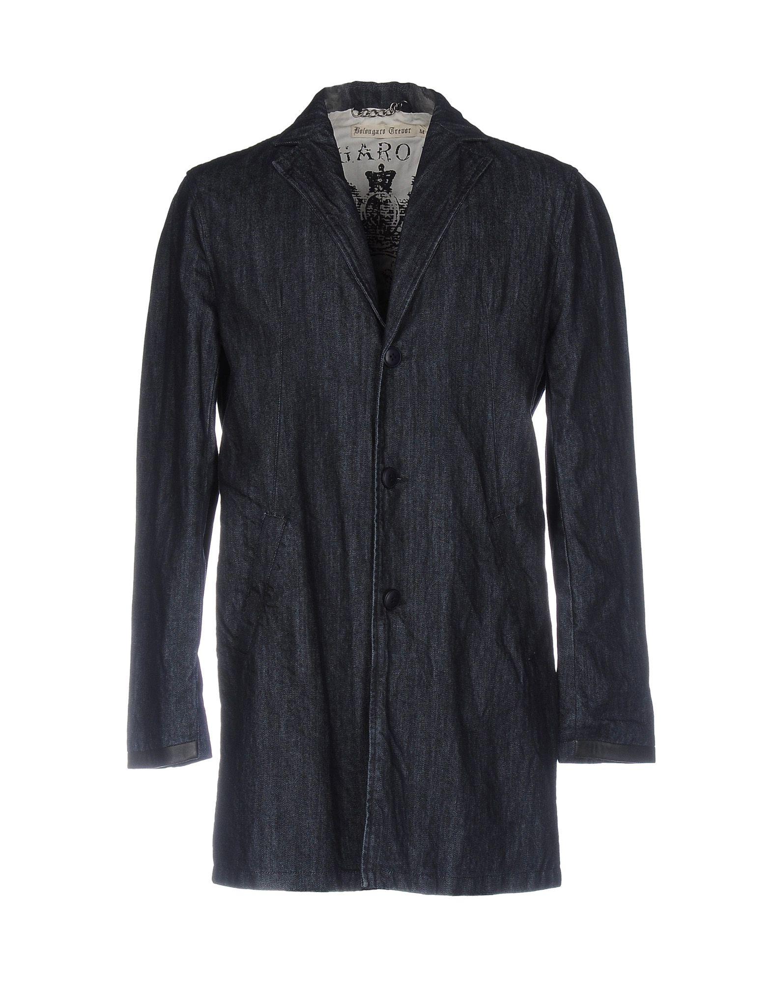BOLONGARO TREVOR Джинсовая верхняя одежда цена 2017