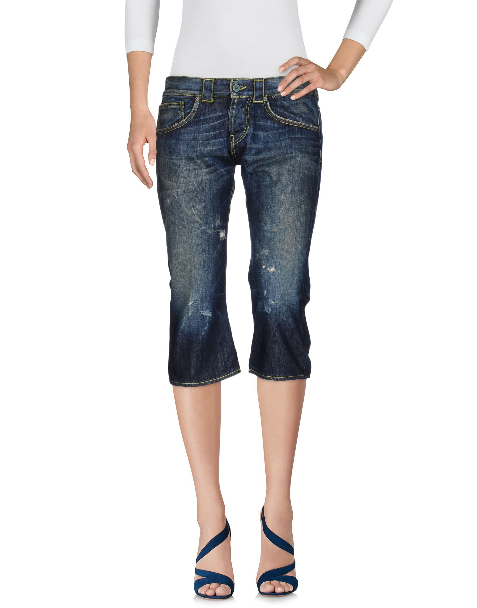 DONDUP STANDART Джинсовые брюки-капри атс ip yeastar standart
