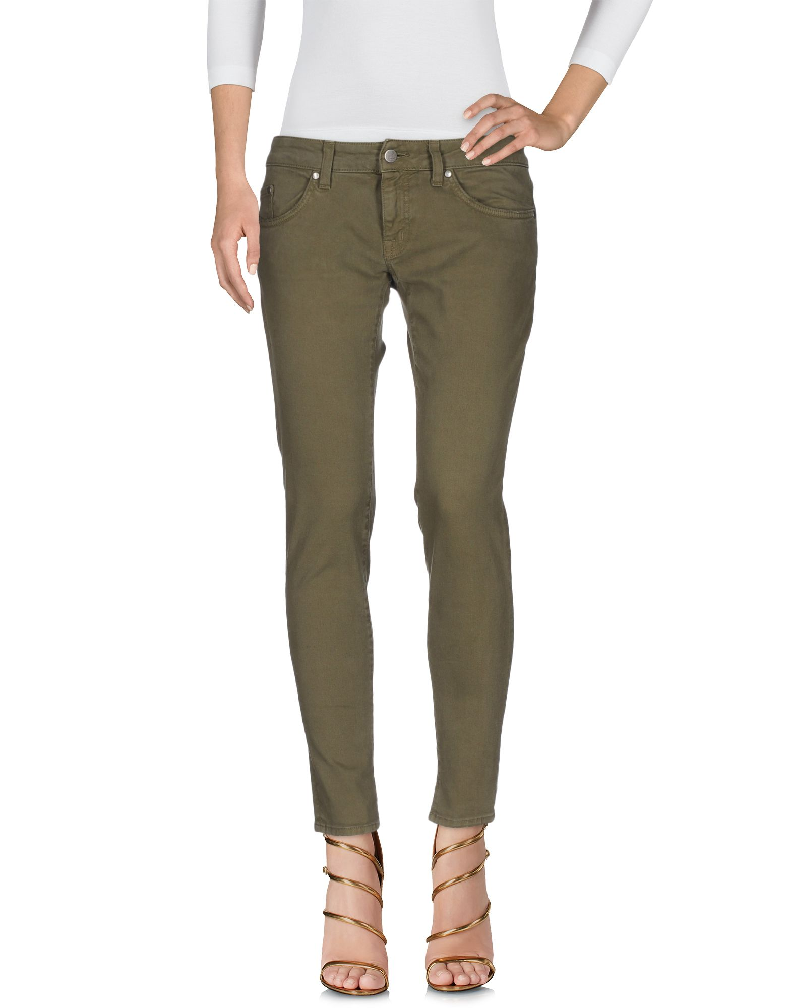 ANTONY MORATO Denim Pants in Military Green