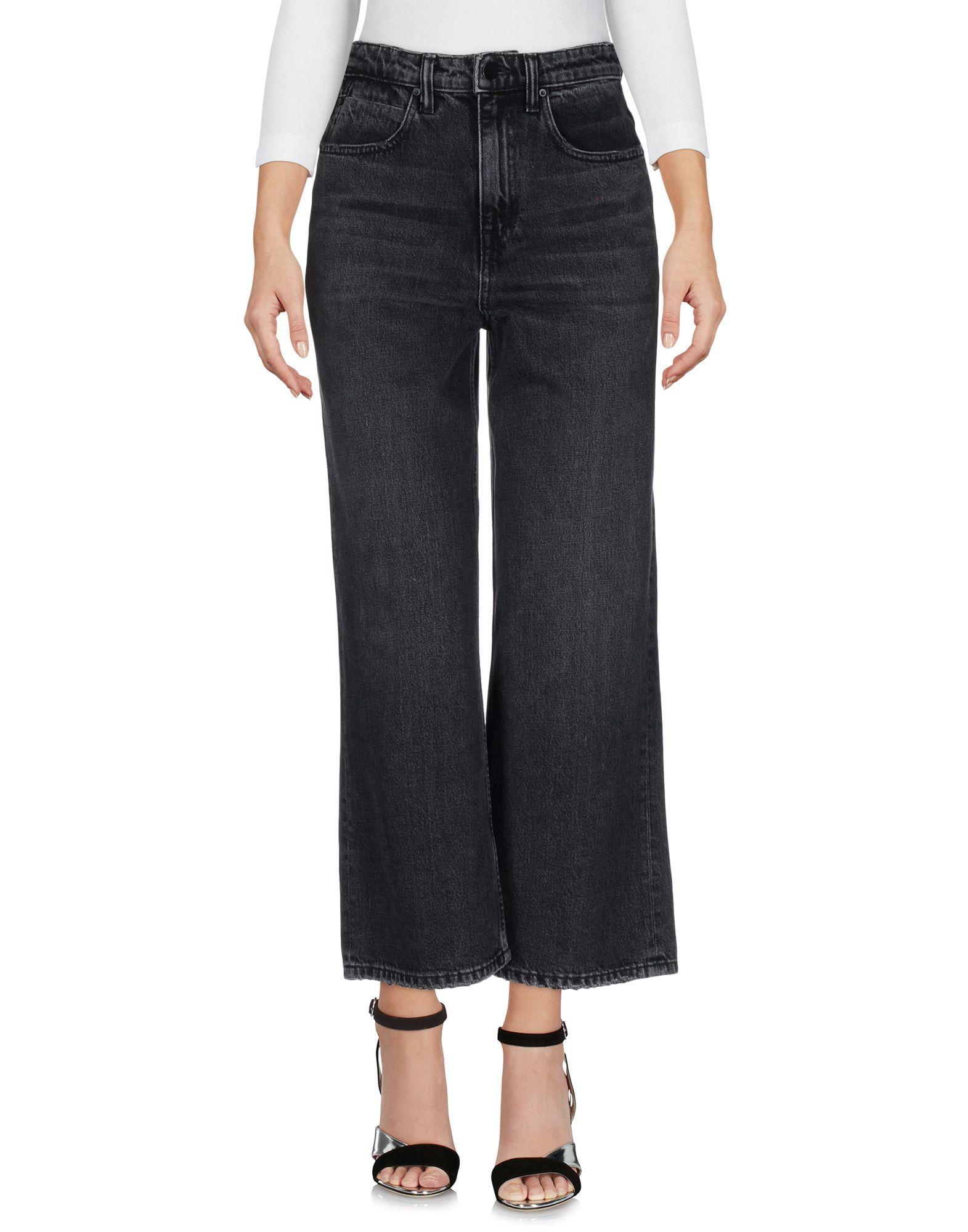 ALEXANDER WANG Джинсовые брюки nobody джинсовые брюки