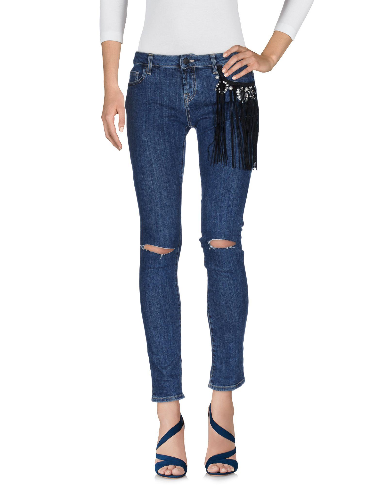 UP ★ JEANS Джинсовые брюки цена 2017