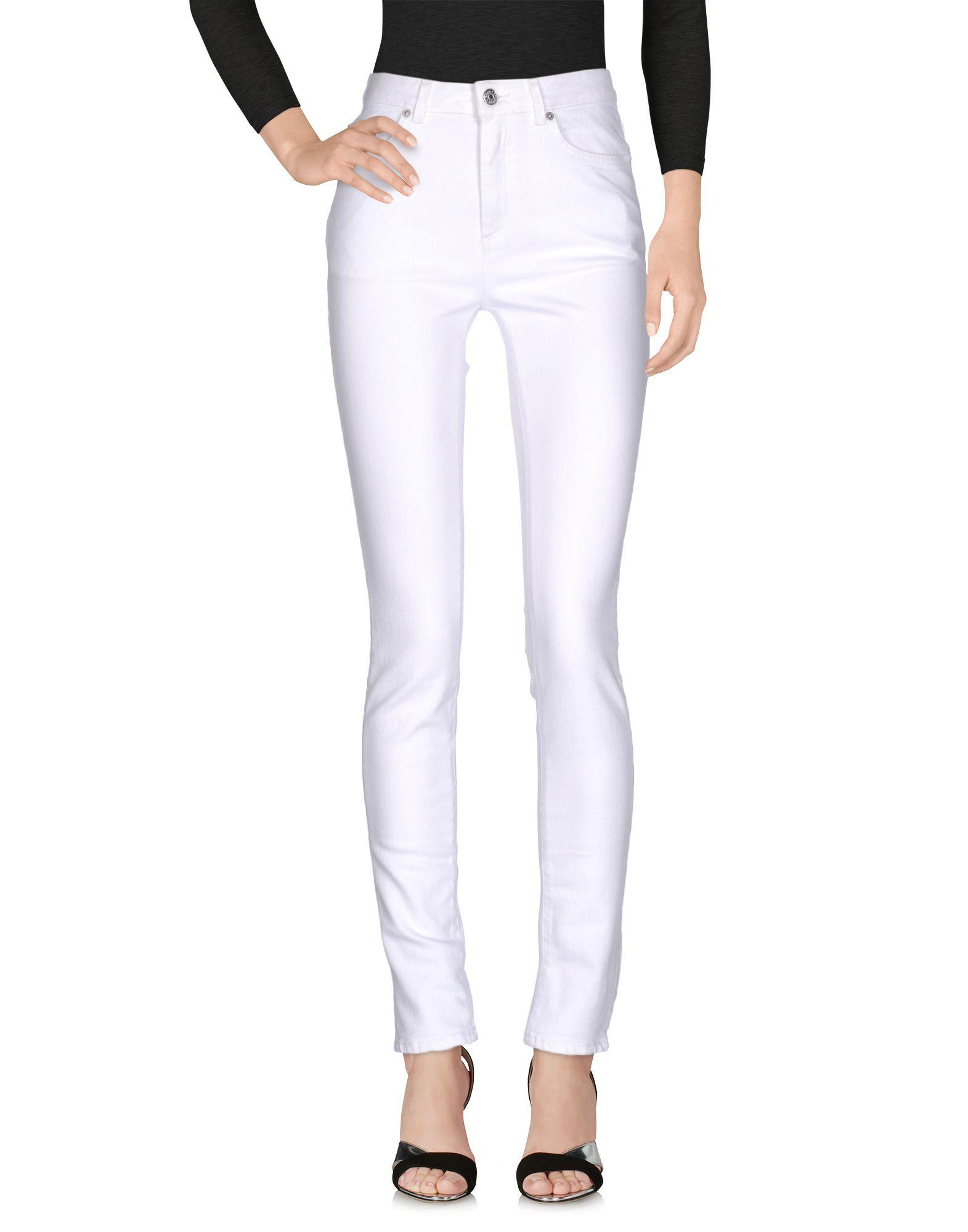 Blå Konst Climb Skinny Jeans in White
