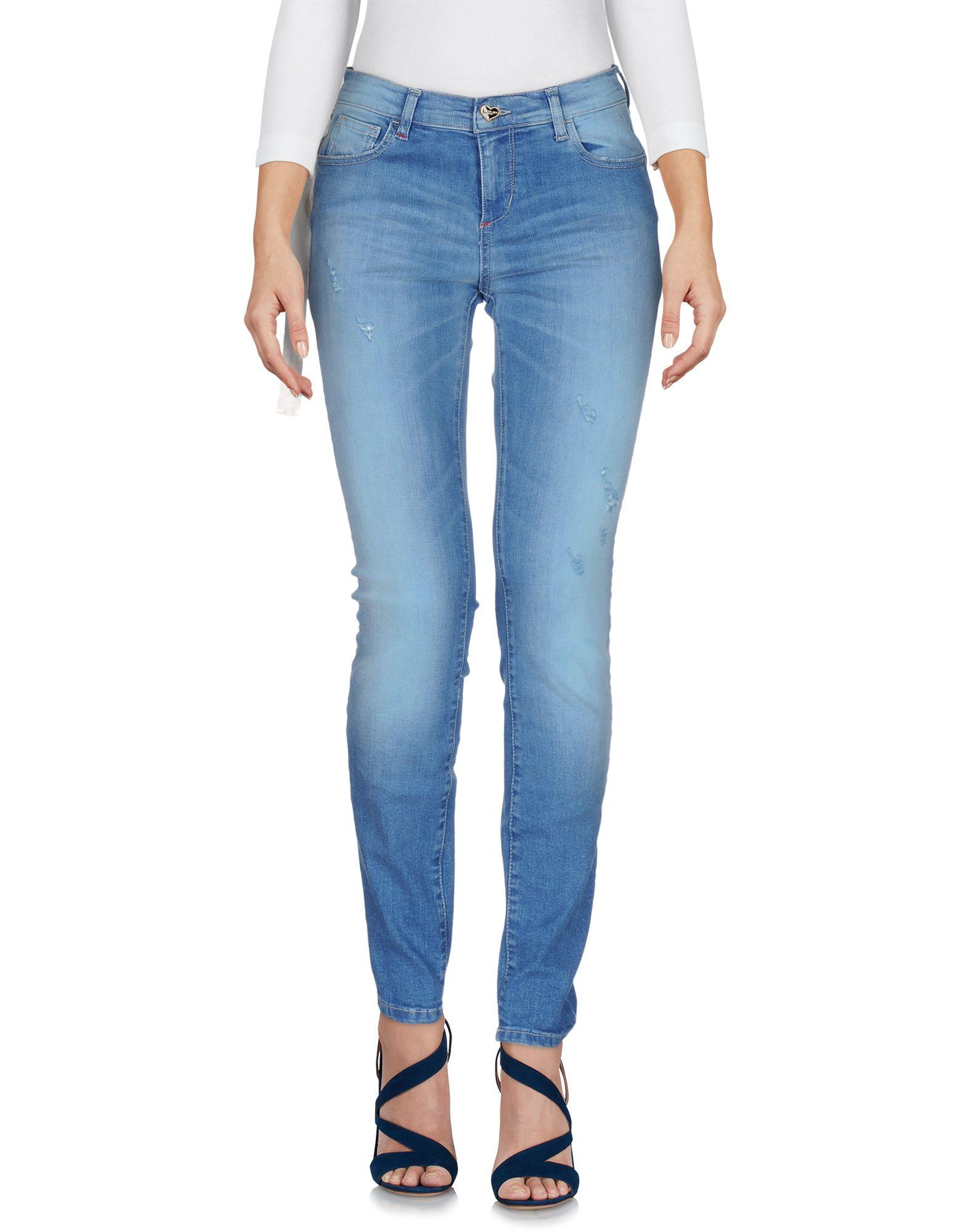 TWIN-SET JEANS Джинсовые брюки цена 2017