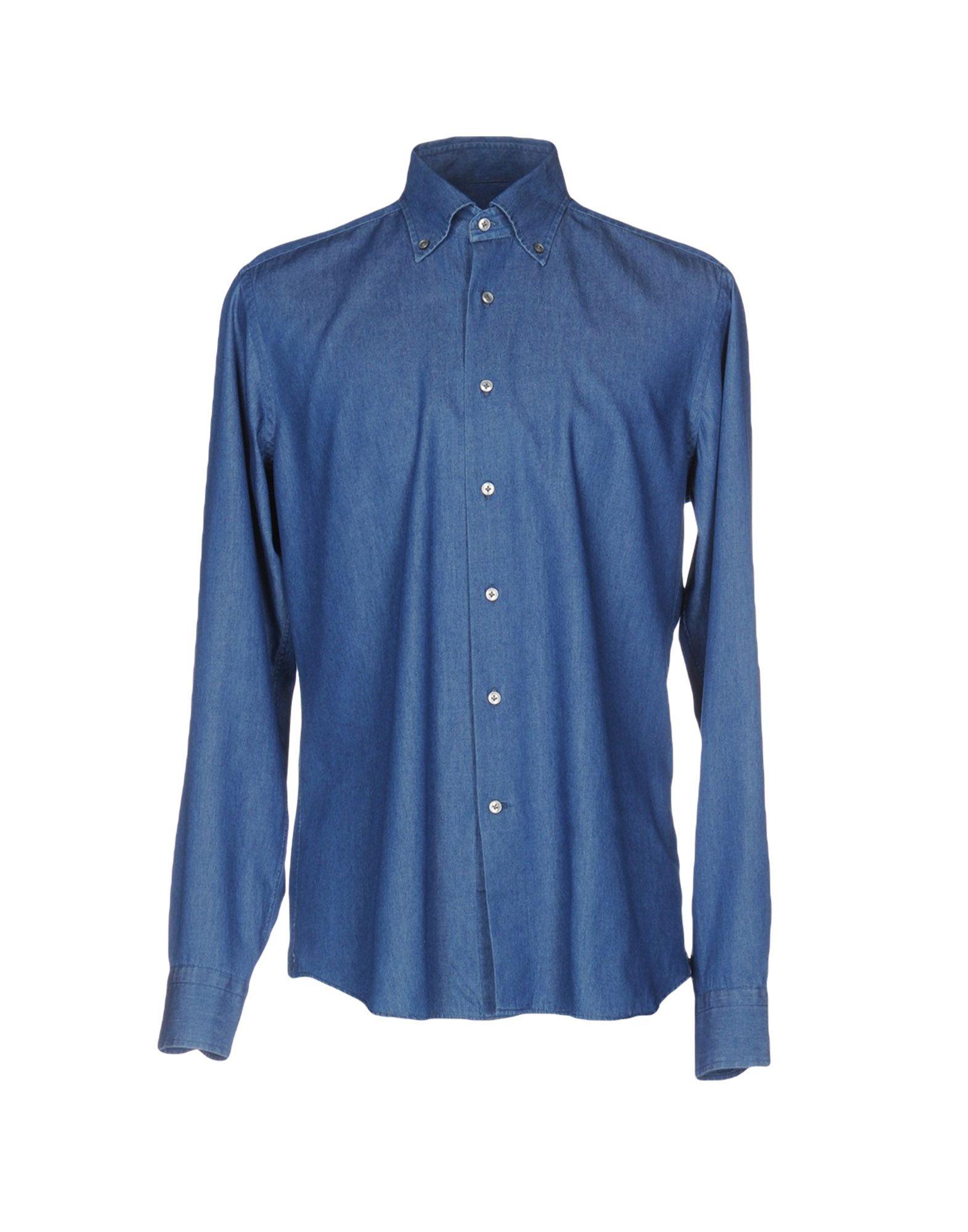 TT CAMICERIA DAL 1938 Джинсовая рубашка gletcher tt