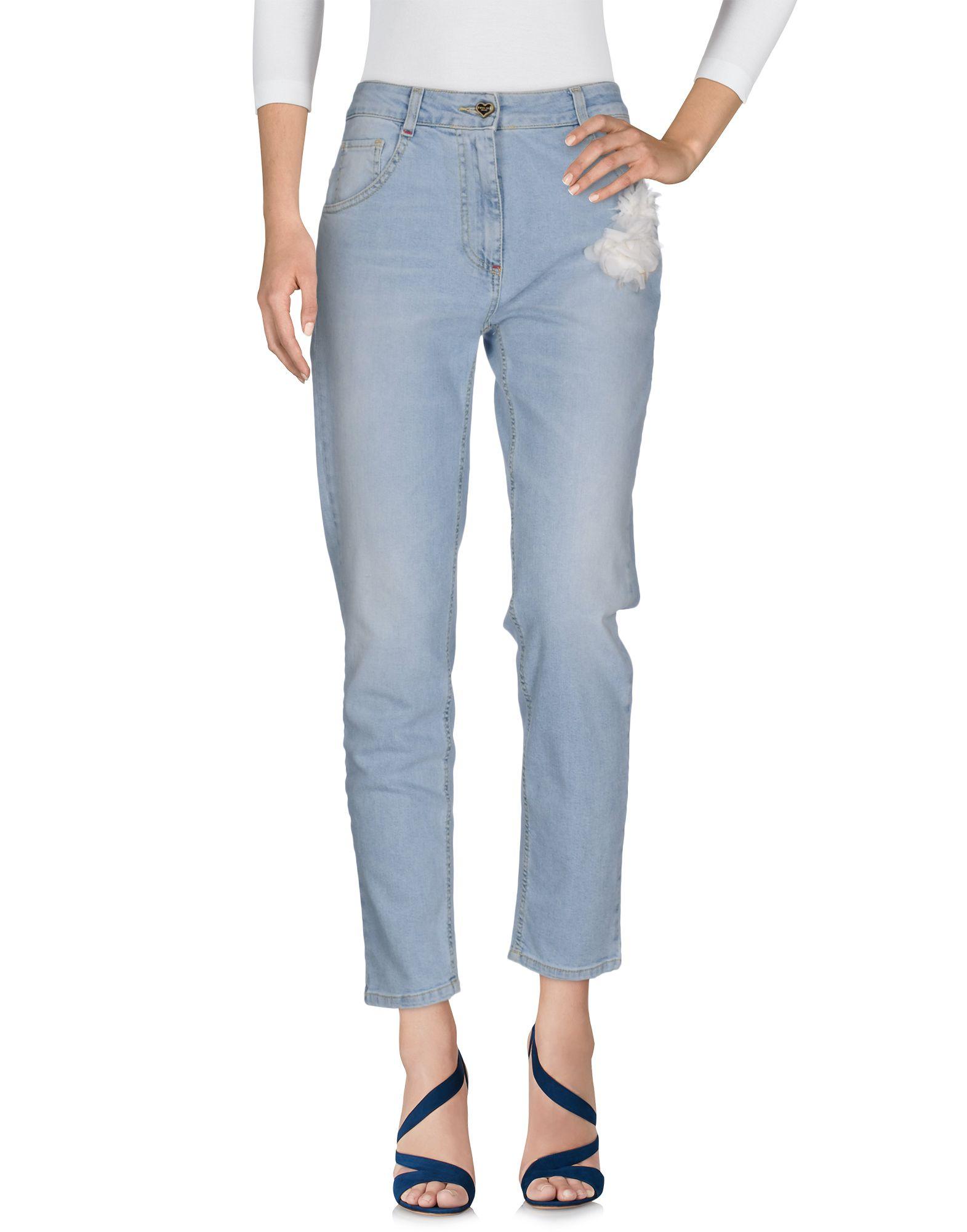 Фото - TWINSET Джинсовые брюки брошь blucome bijouteria esmaltes 7106100495