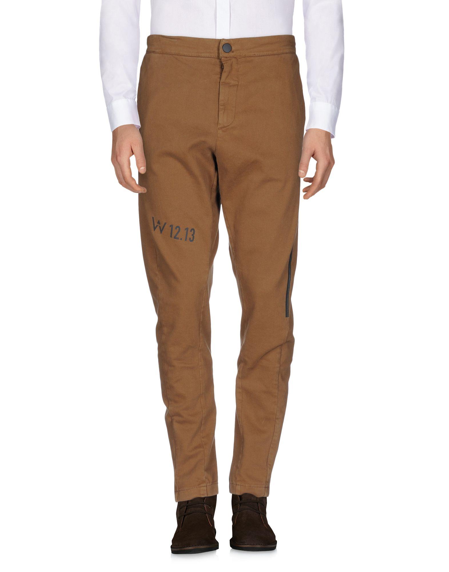 DE WALLEN Casual Pants in Camel