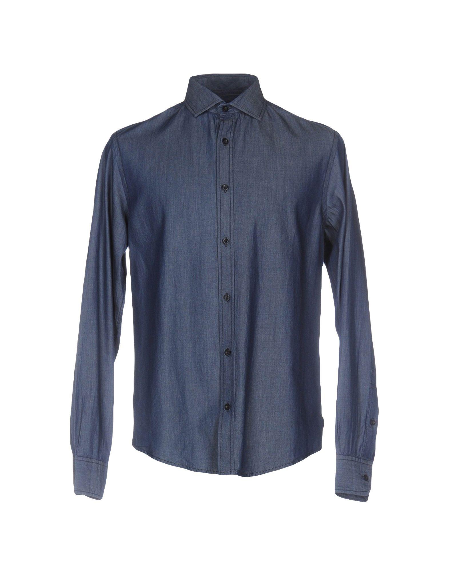 ARMANI JEANS Джинсовая рубашка